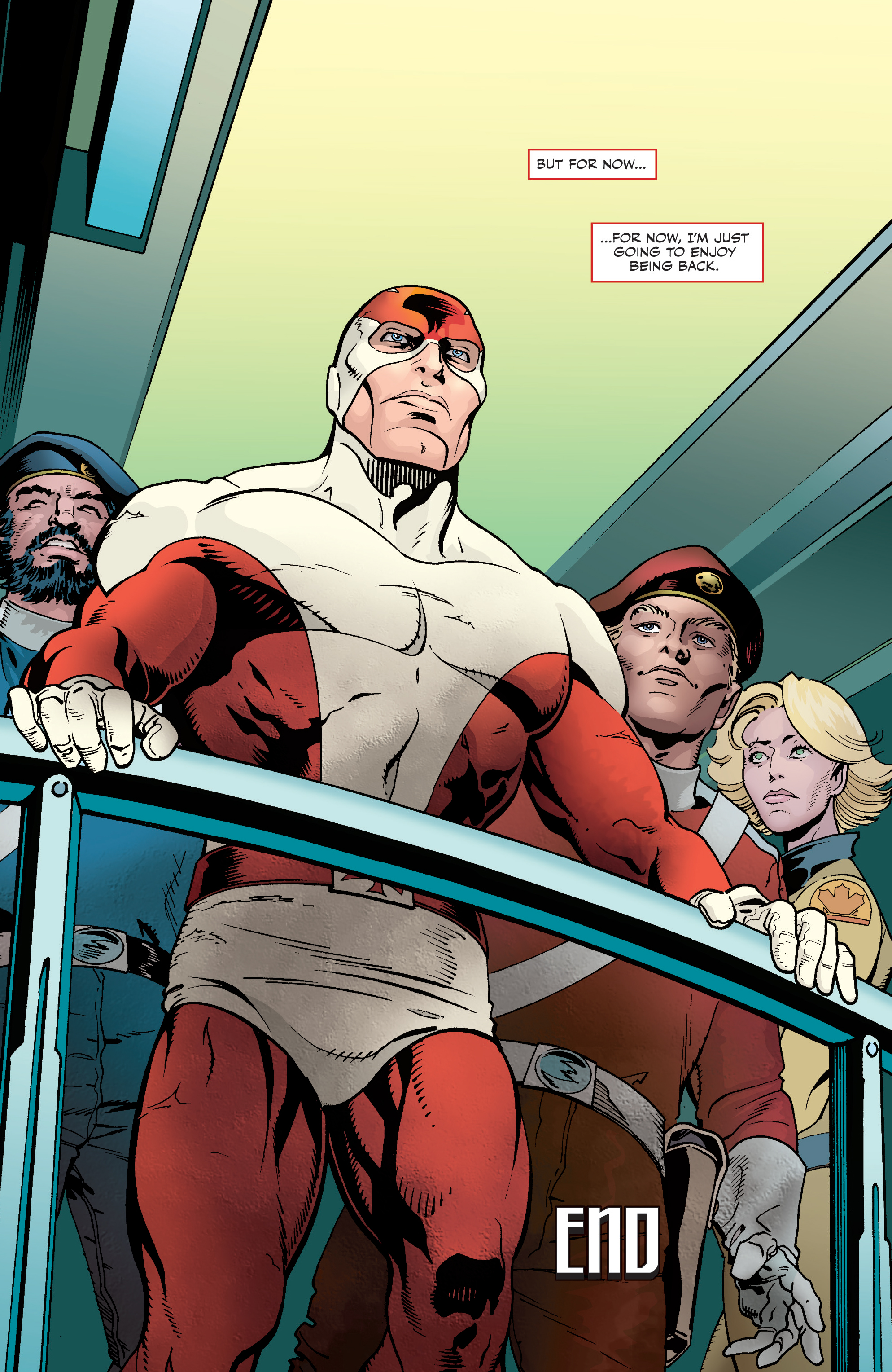 Read online All-New Classic Captain Canuck comic -  Issue #4 - 22
