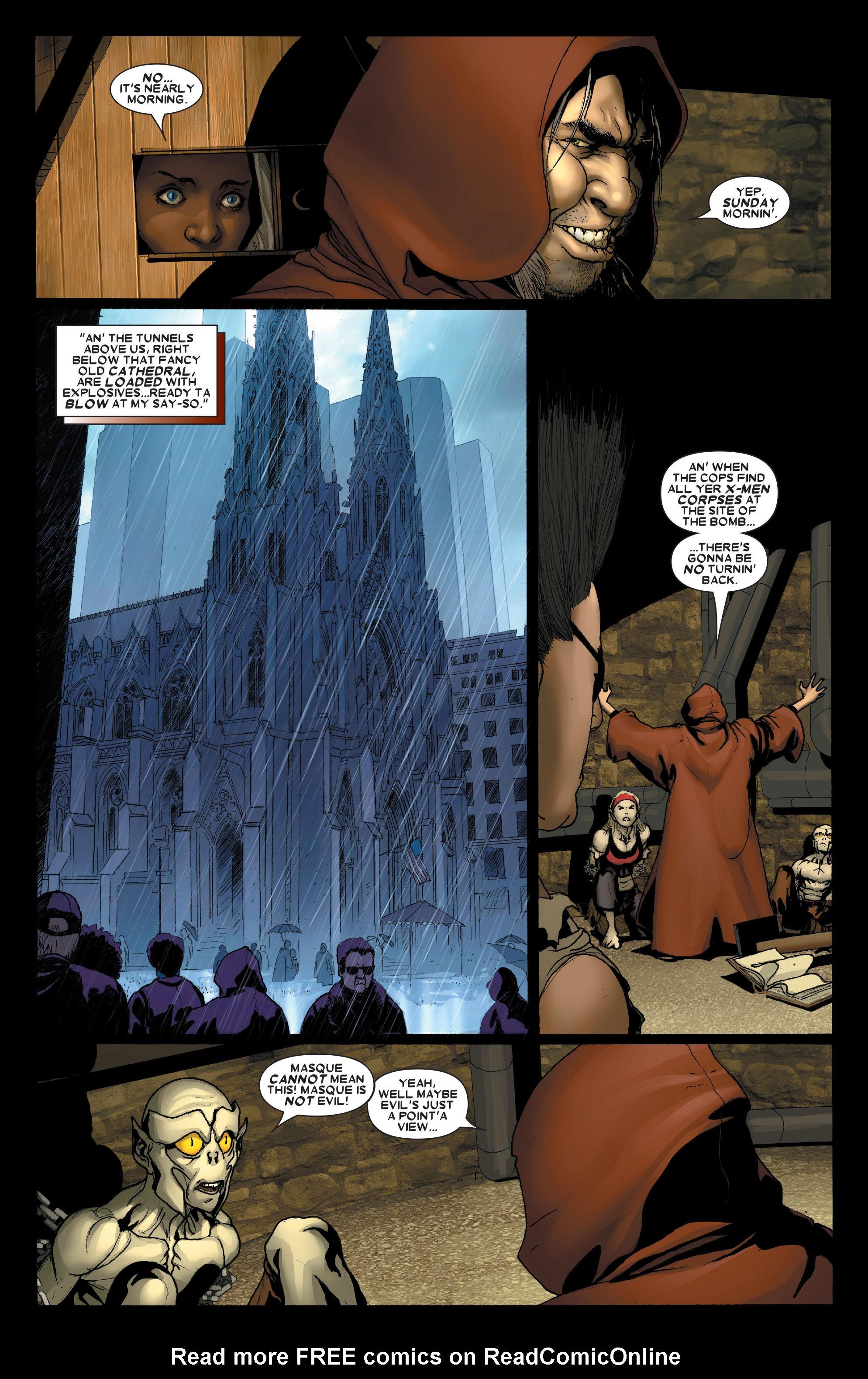 Read online Uncanny X-Men (1963) comic -  Issue #491 - 10