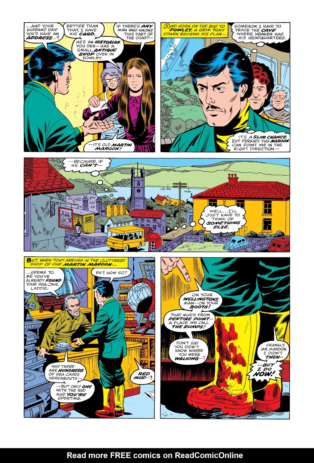 Read online Marvel Masterworks: The Invincible Iron Man comic -  Issue # TPB 11 (Part 3) - 75