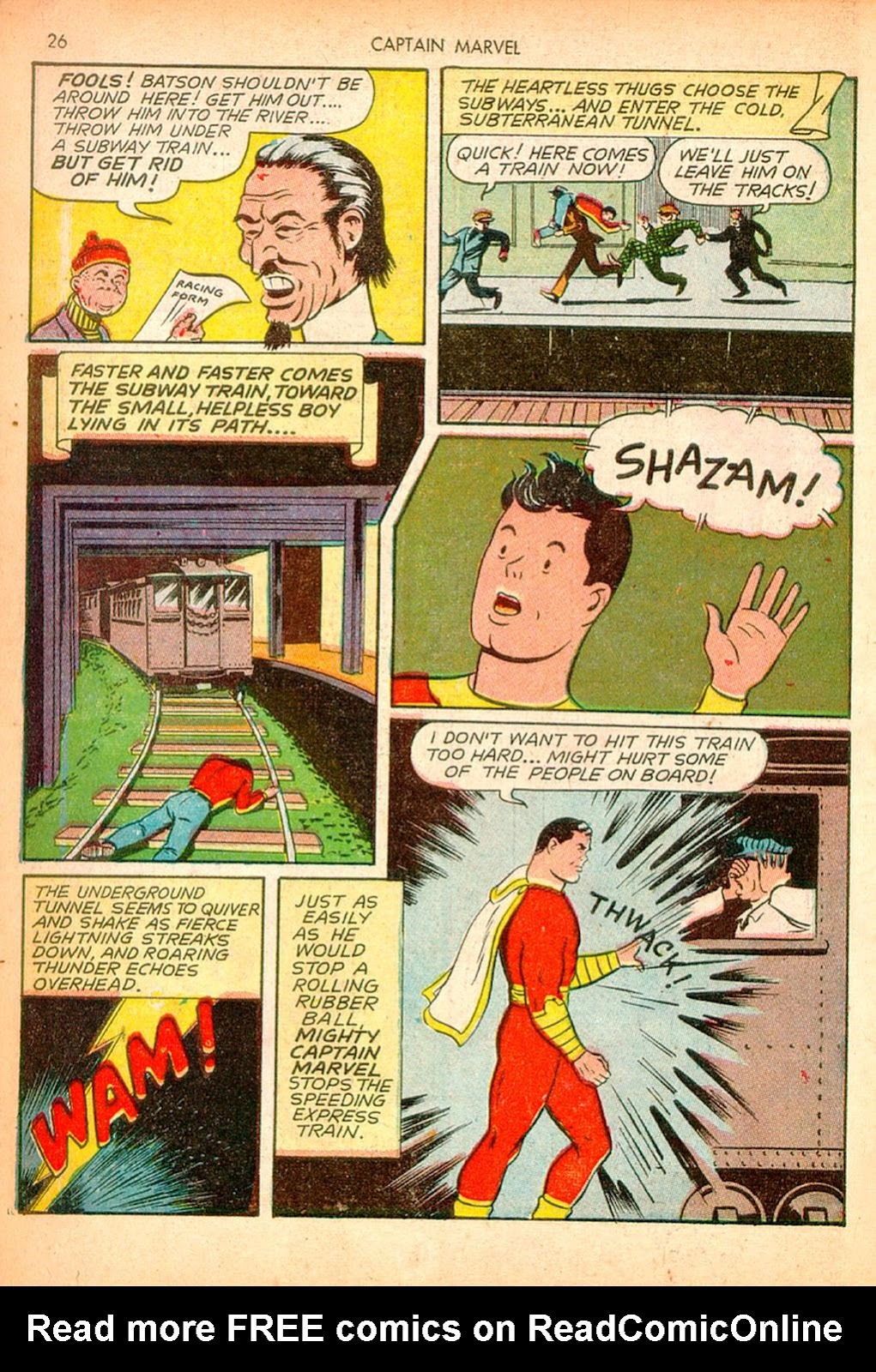 Captain Marvel Adventures issue 10 - Page 26