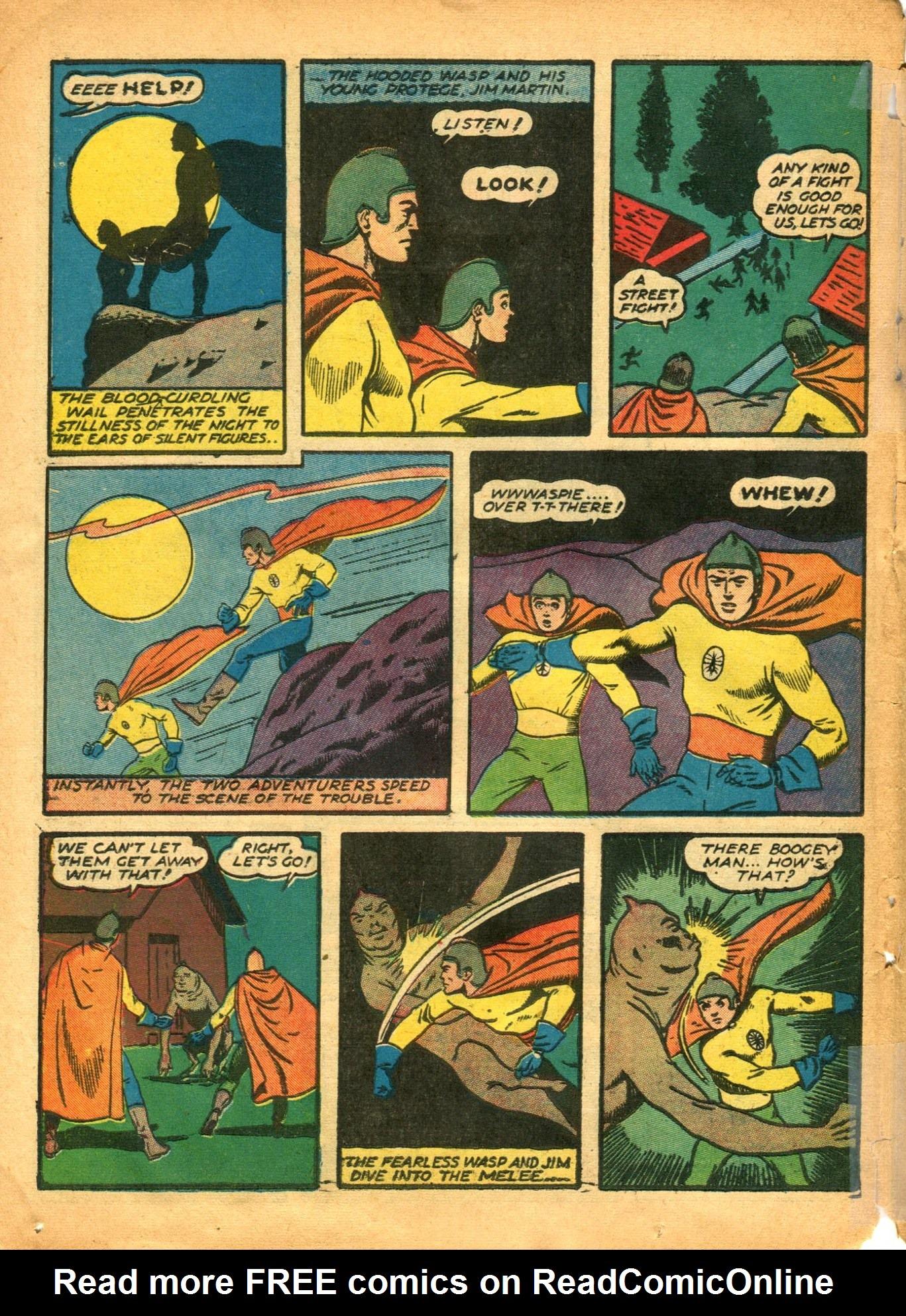 Read online Shadow Comics comic -  Issue #12 - 50