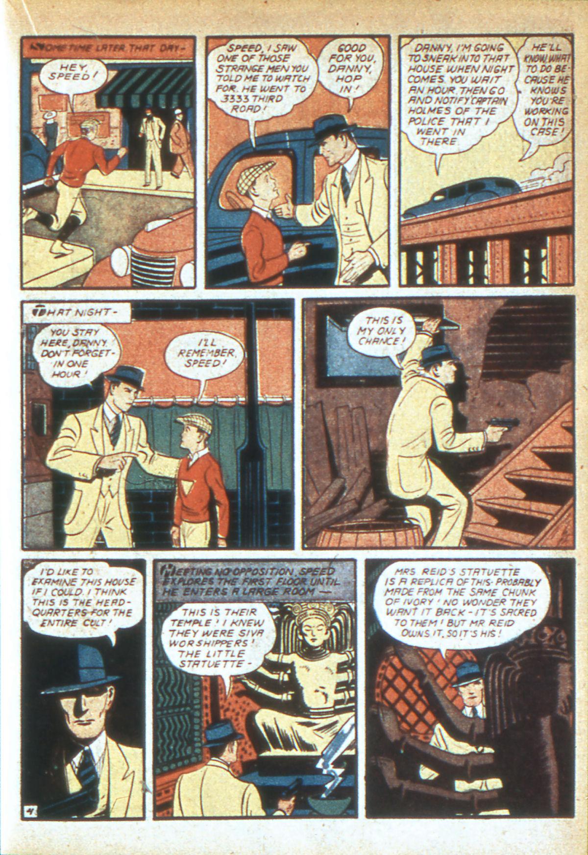 Read online Detective Comics (1937) comic -  Issue #39 - 40