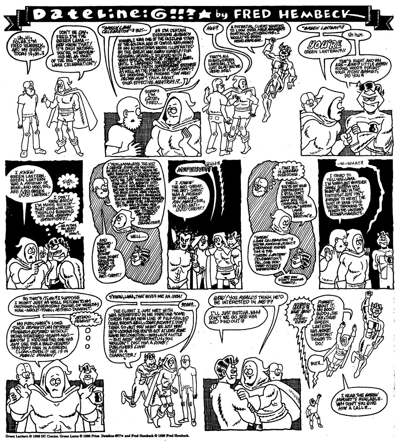 Read online The Nearly Complete Essential Hembeck Archives Omnibus comic -  Issue # TPB (Part 7) - 52