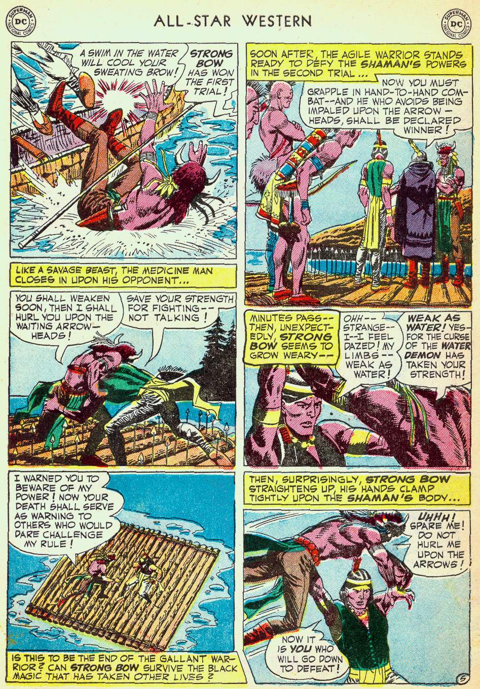 Read online All-Star Western (1951) comic -  Issue #63 - 7