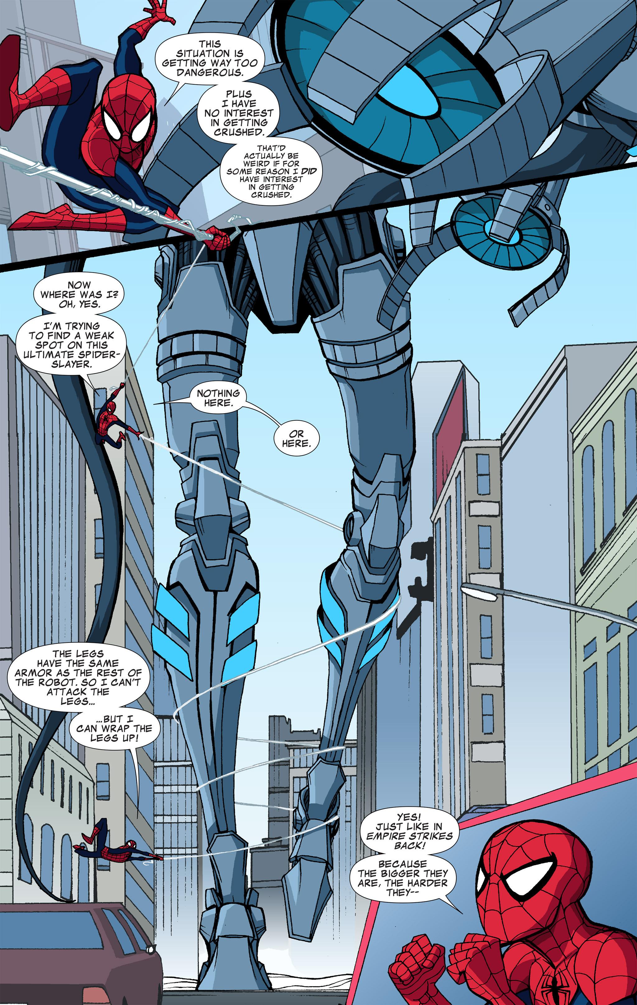 Read online Ultimate Spider-Man (Infinite Comics) (2015) comic -  Issue #6 - 18