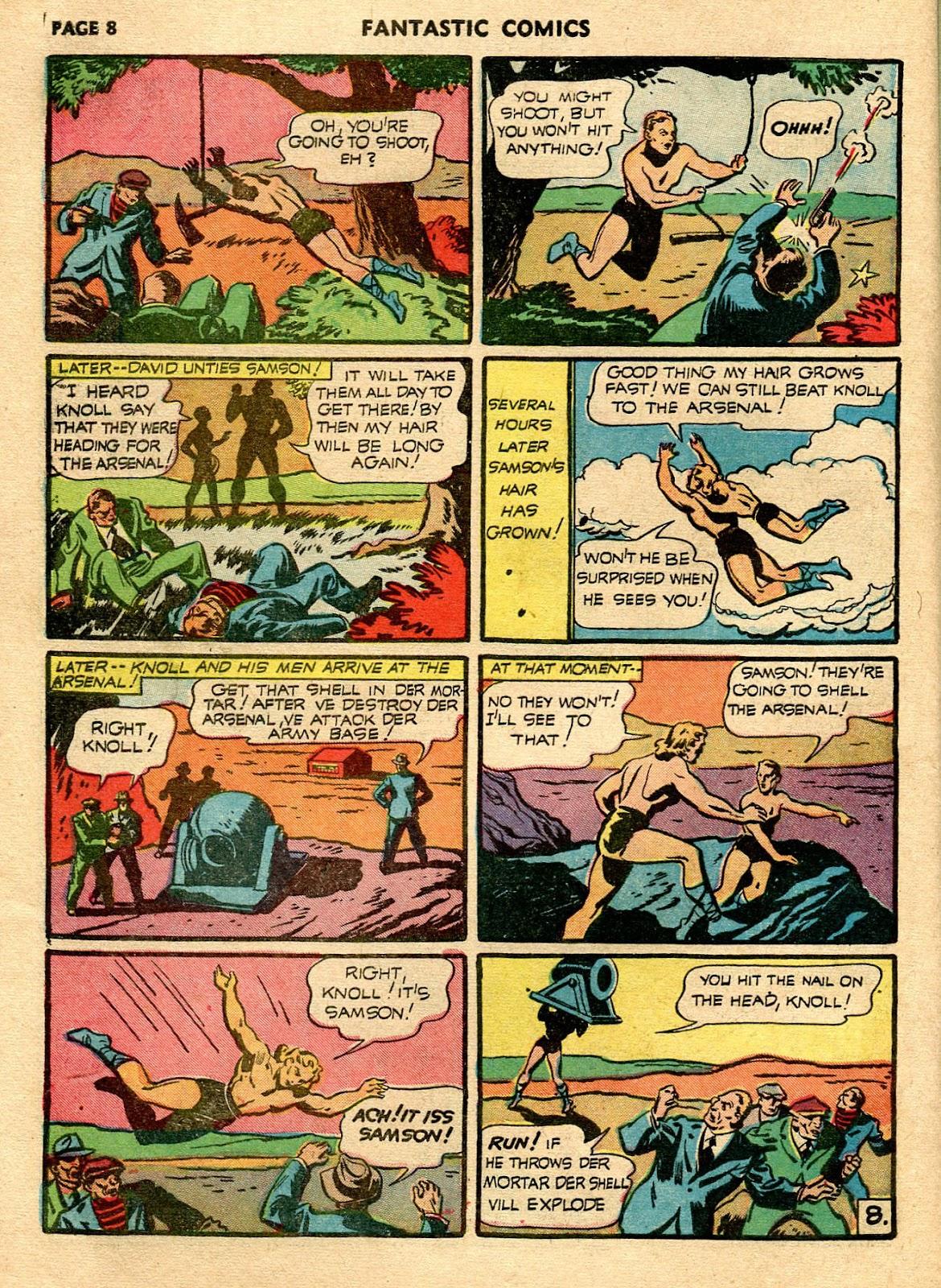 Read online Fantastic Comics comic -  Issue #21 - 10