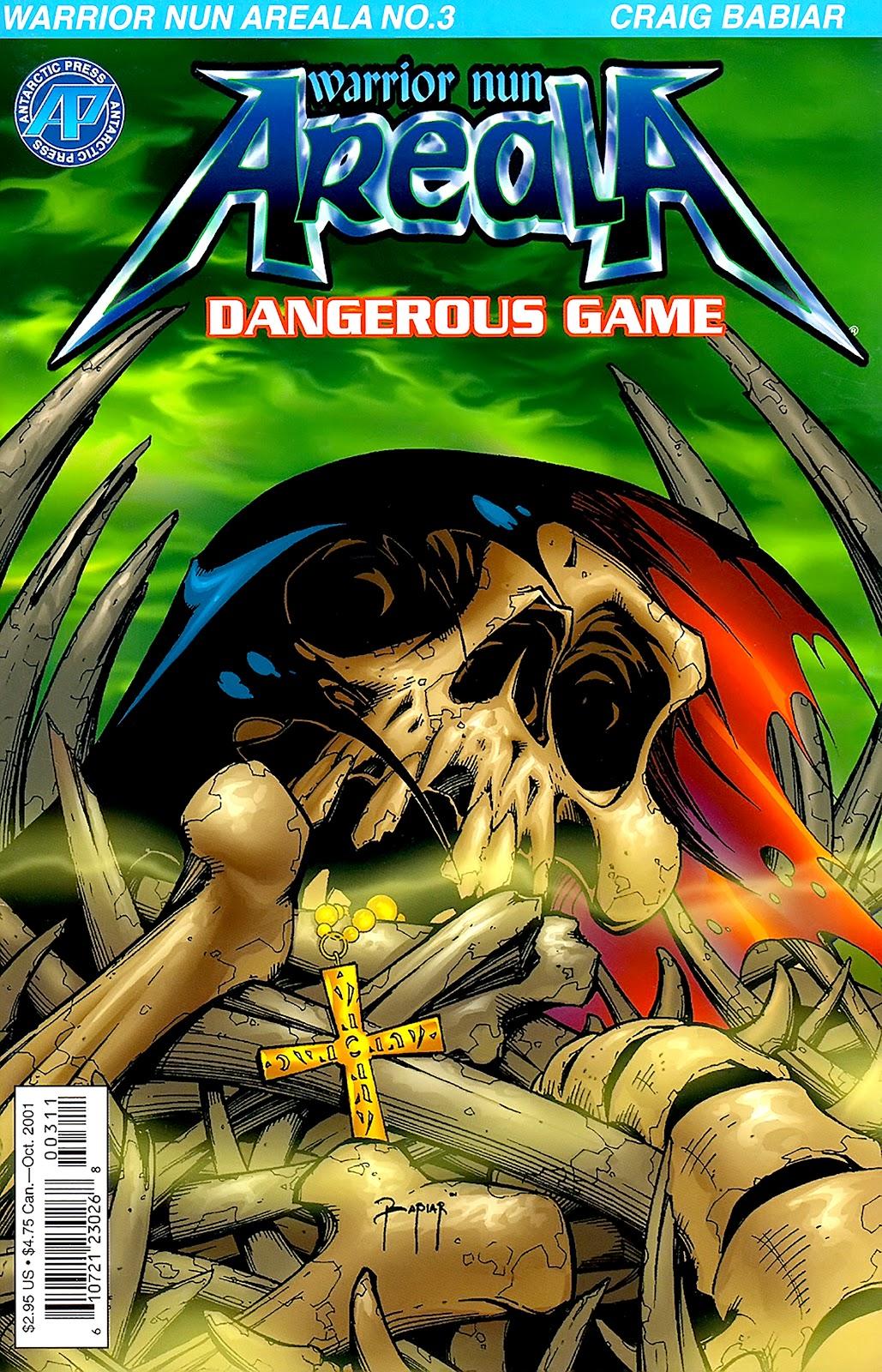 Warrior Nun Areala:  Dangerous Game Issue #3 #3 - English 1
