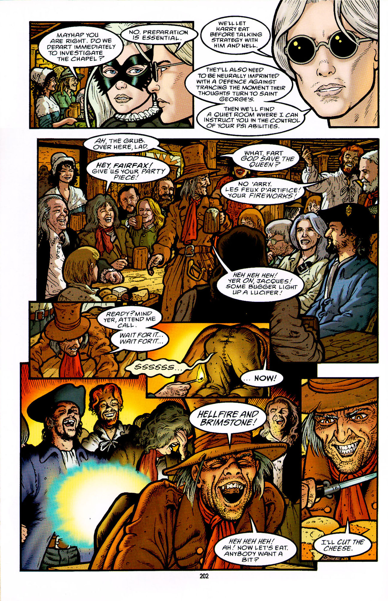 Read online Heart of Empire comic -  Issue #7 - 8