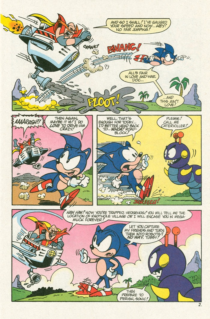 Read online Sonic Super Special comic -  Issue #3 - Sonic Firsts - 4