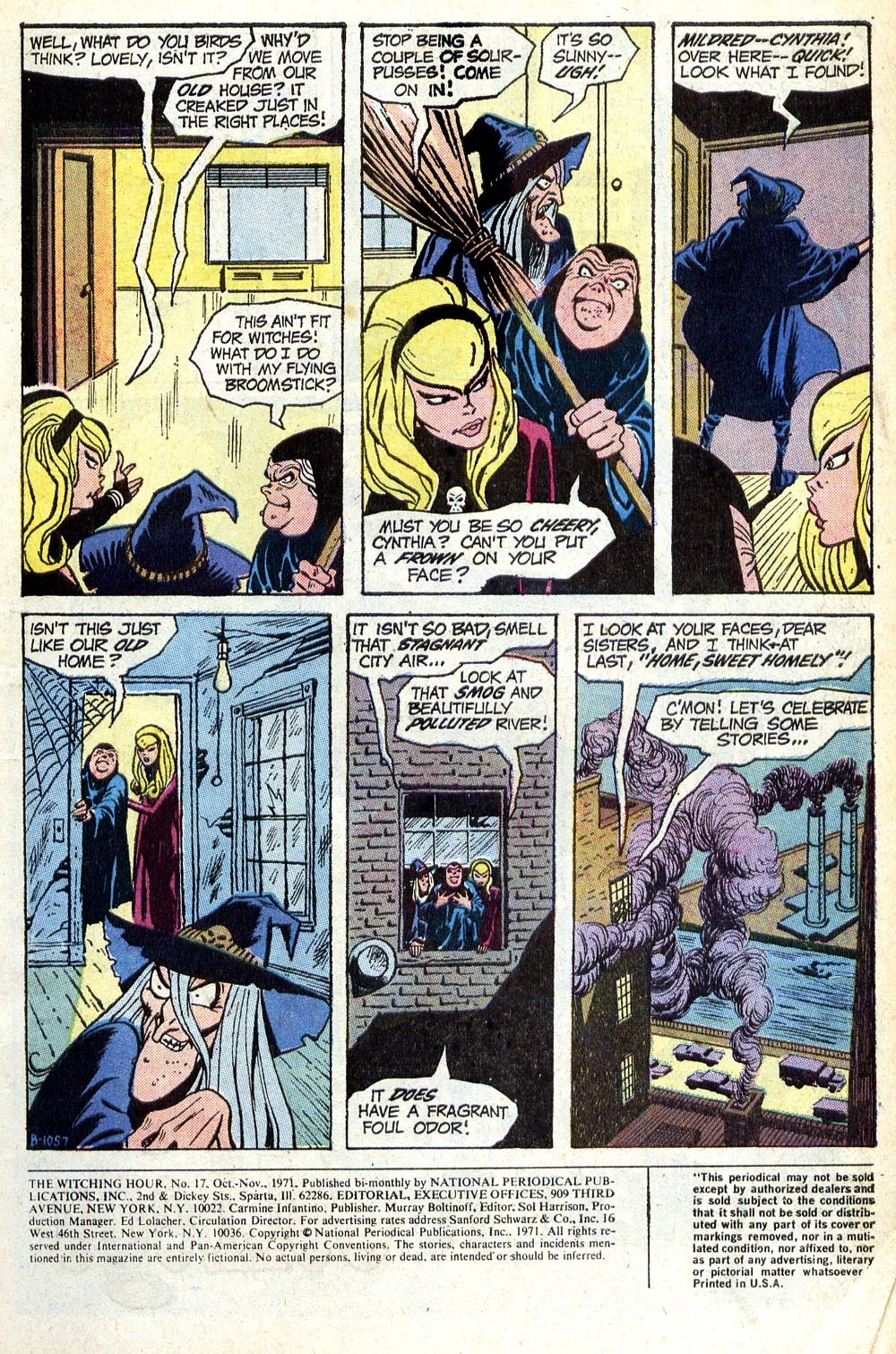 The Witching Hour (1969) issue 17 - Page 2