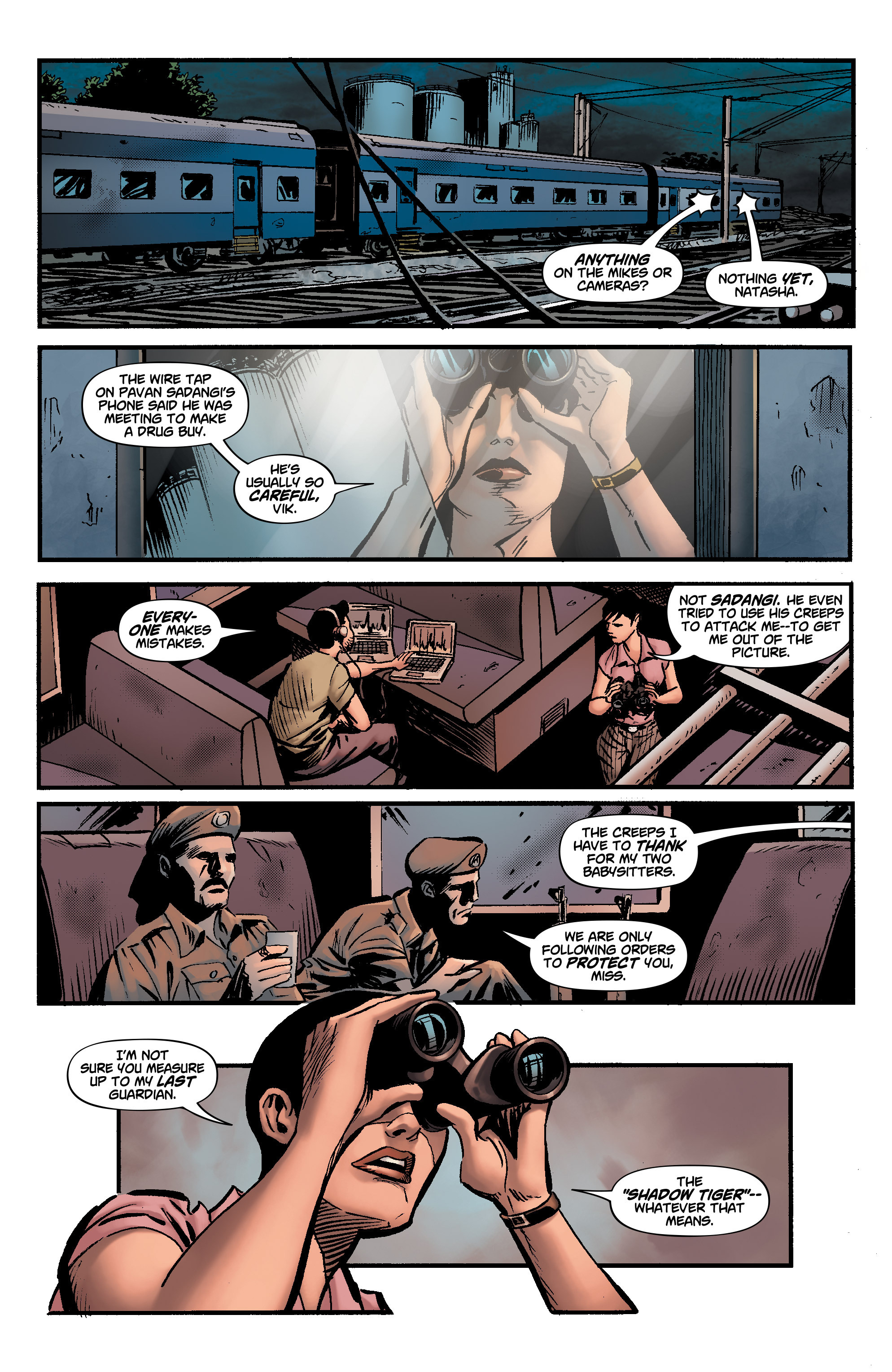 Read online Shadow Tiger comic -  Issue #3 - 11