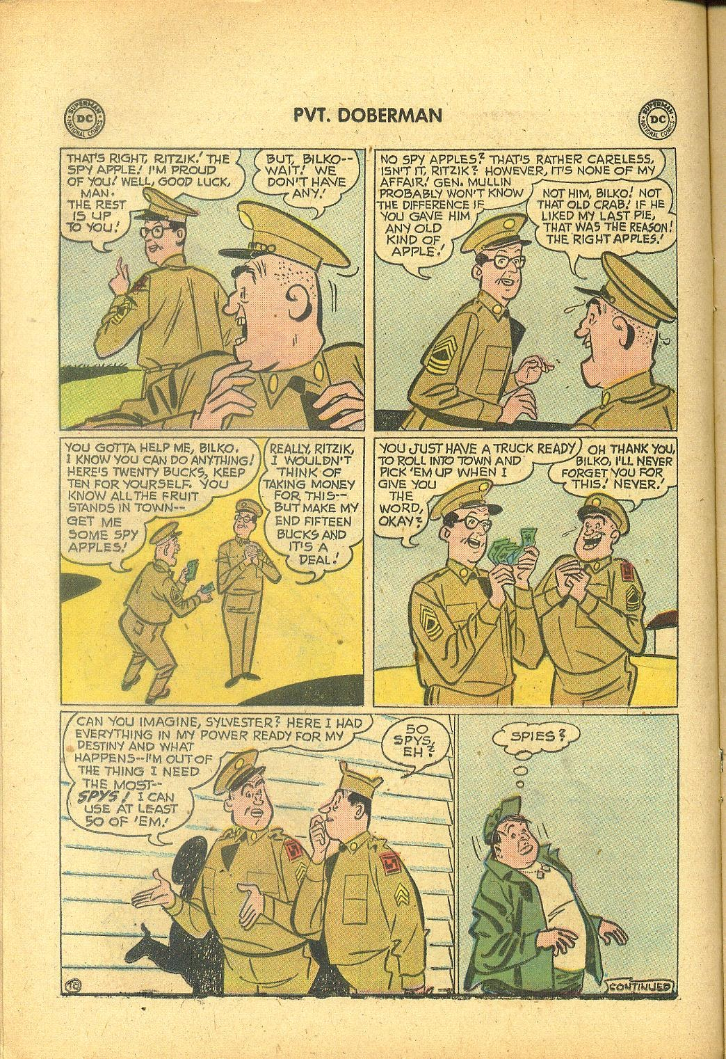 Sgt. Bilko's Pvt. Doberman issue 1 - Page 12