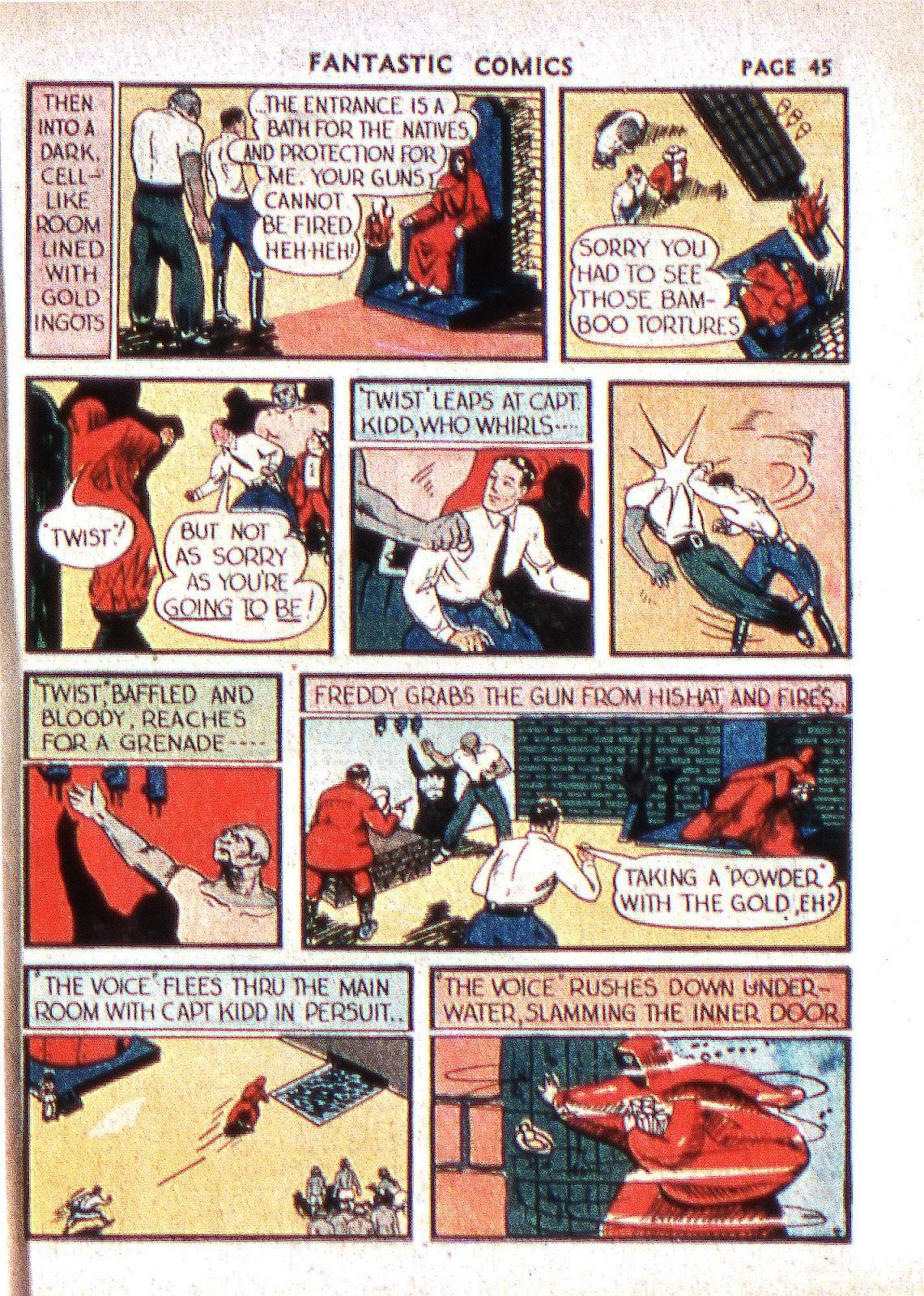 Read online Fantastic Comics comic -  Issue #2 - 46