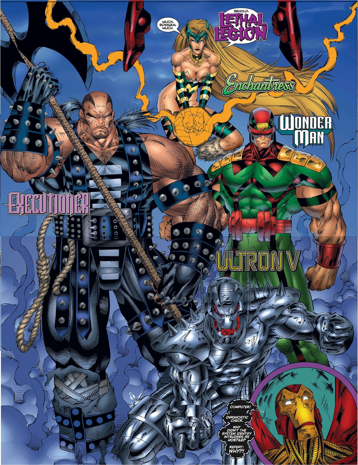 Read online Avengers (1996) comic -  Issue #7 - 17
