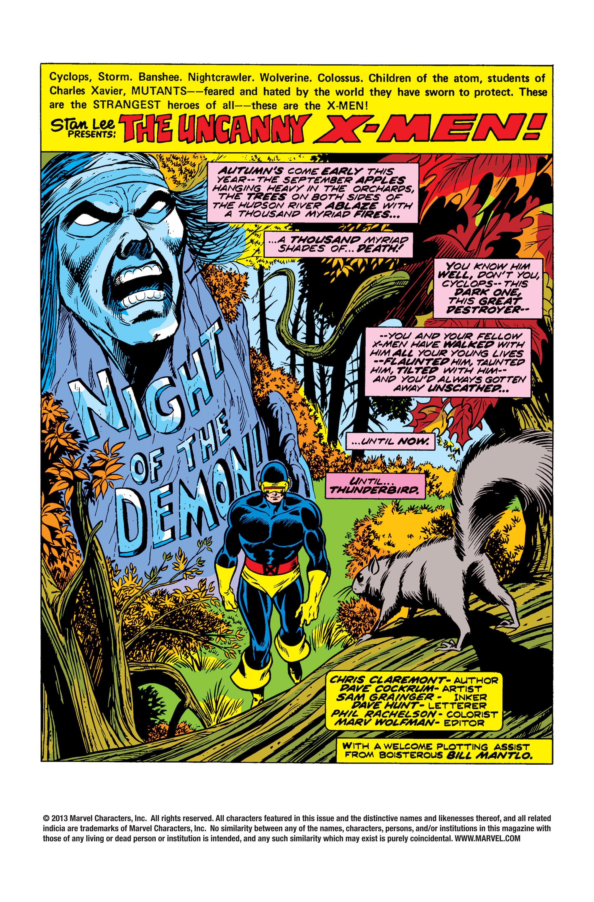 Uncanny X-Men (1963) 96 Page 1