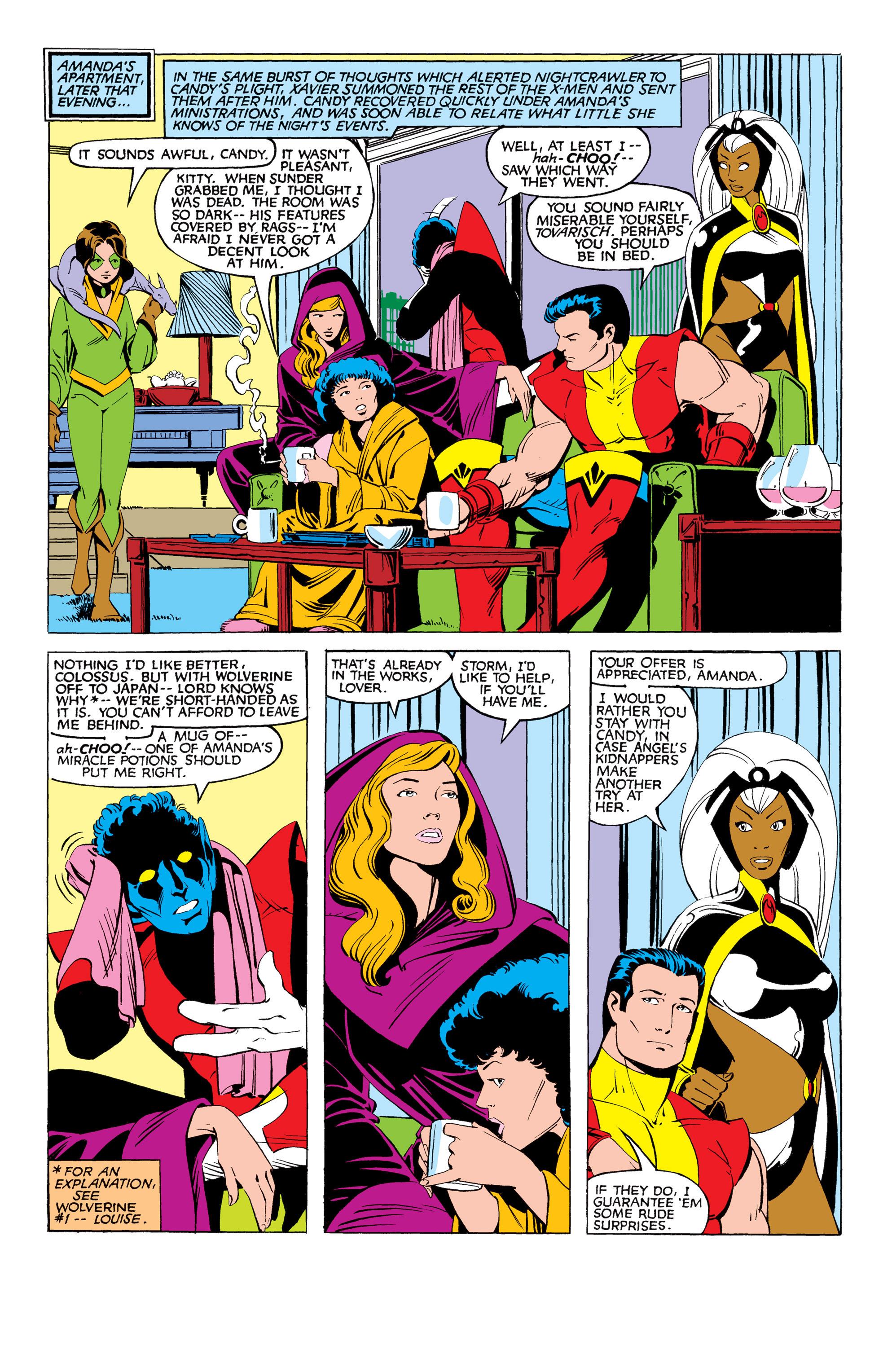 Read online Uncanny X-Men (1963) comic -  Issue #169 - 9