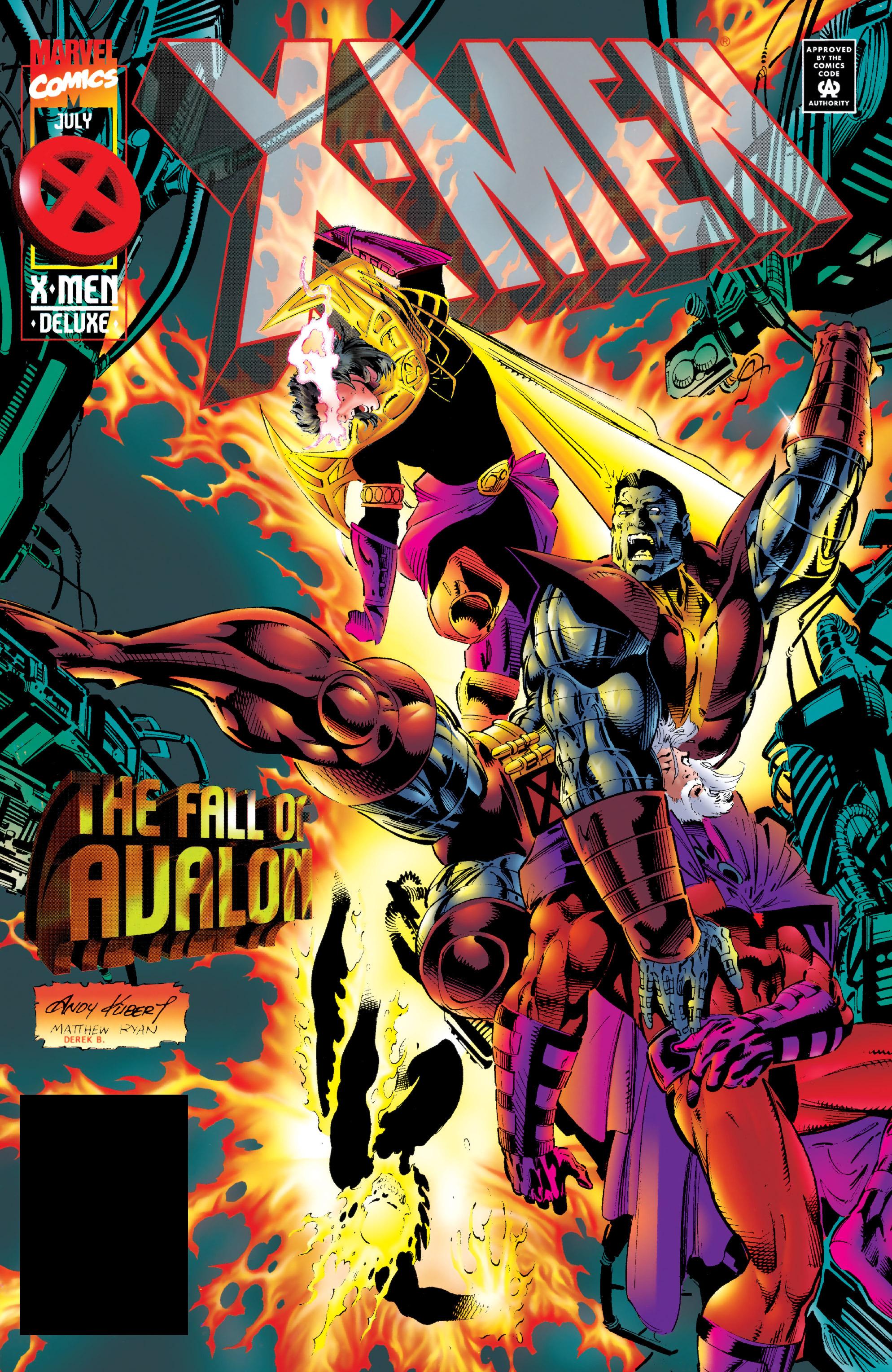 X-Men (1991) 42 Page 0