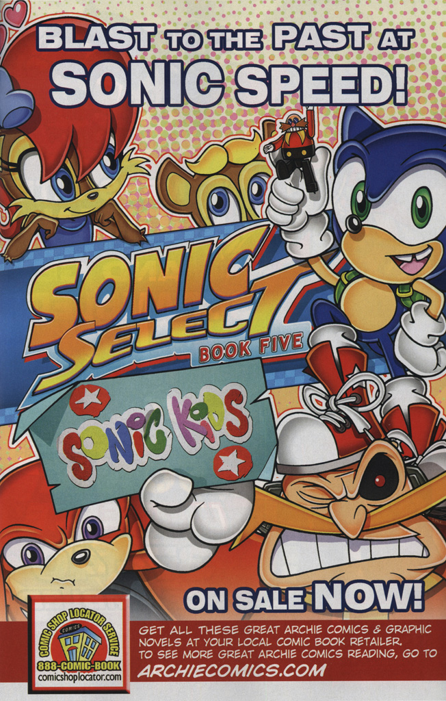 Read online Sonic the Hedgehog Free Comic Book Day Edition comic -  Issue # Special 6 - 11