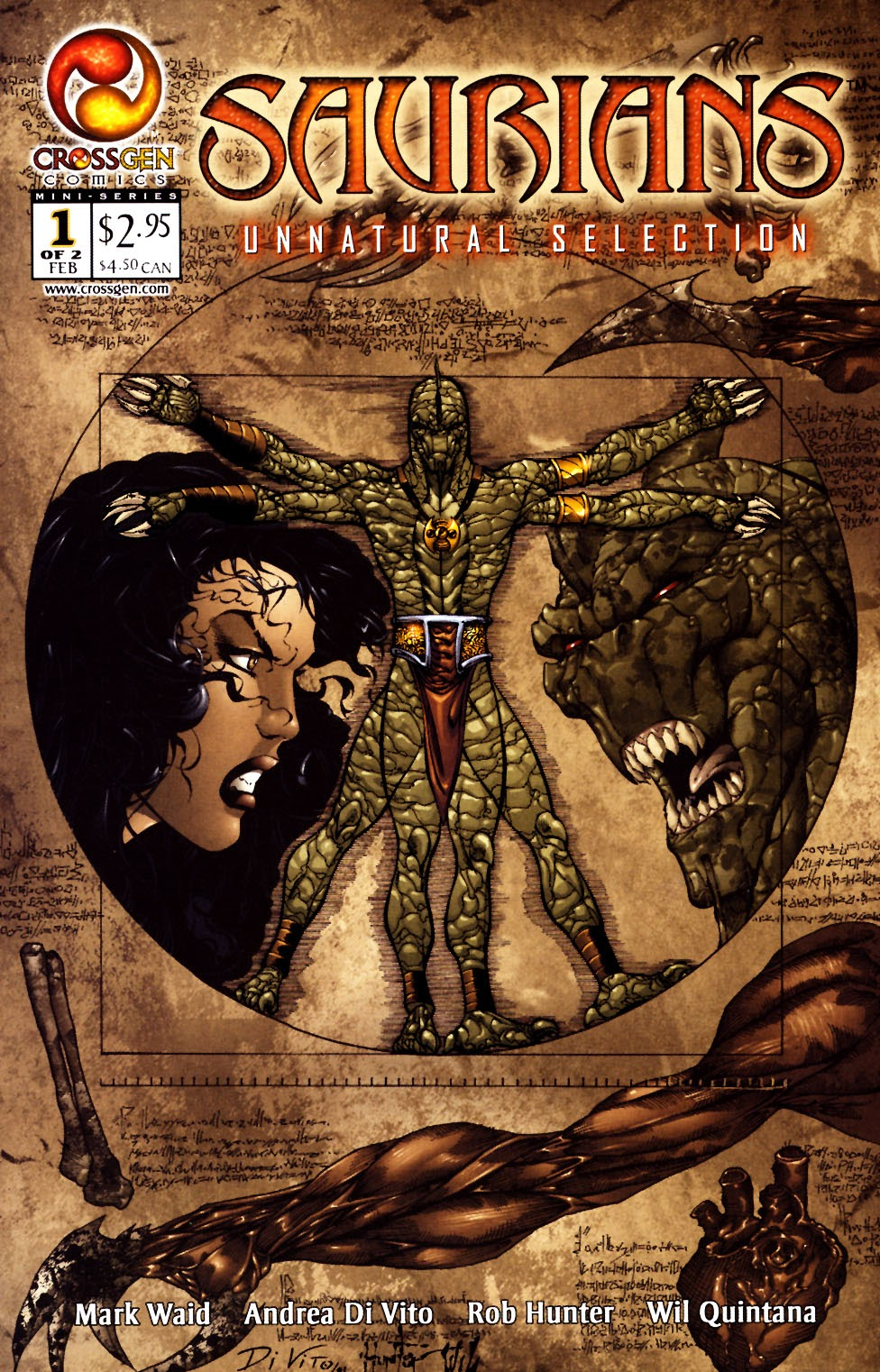 Read online Saurians: Unnatural Selection comic -  Issue #1 - 1