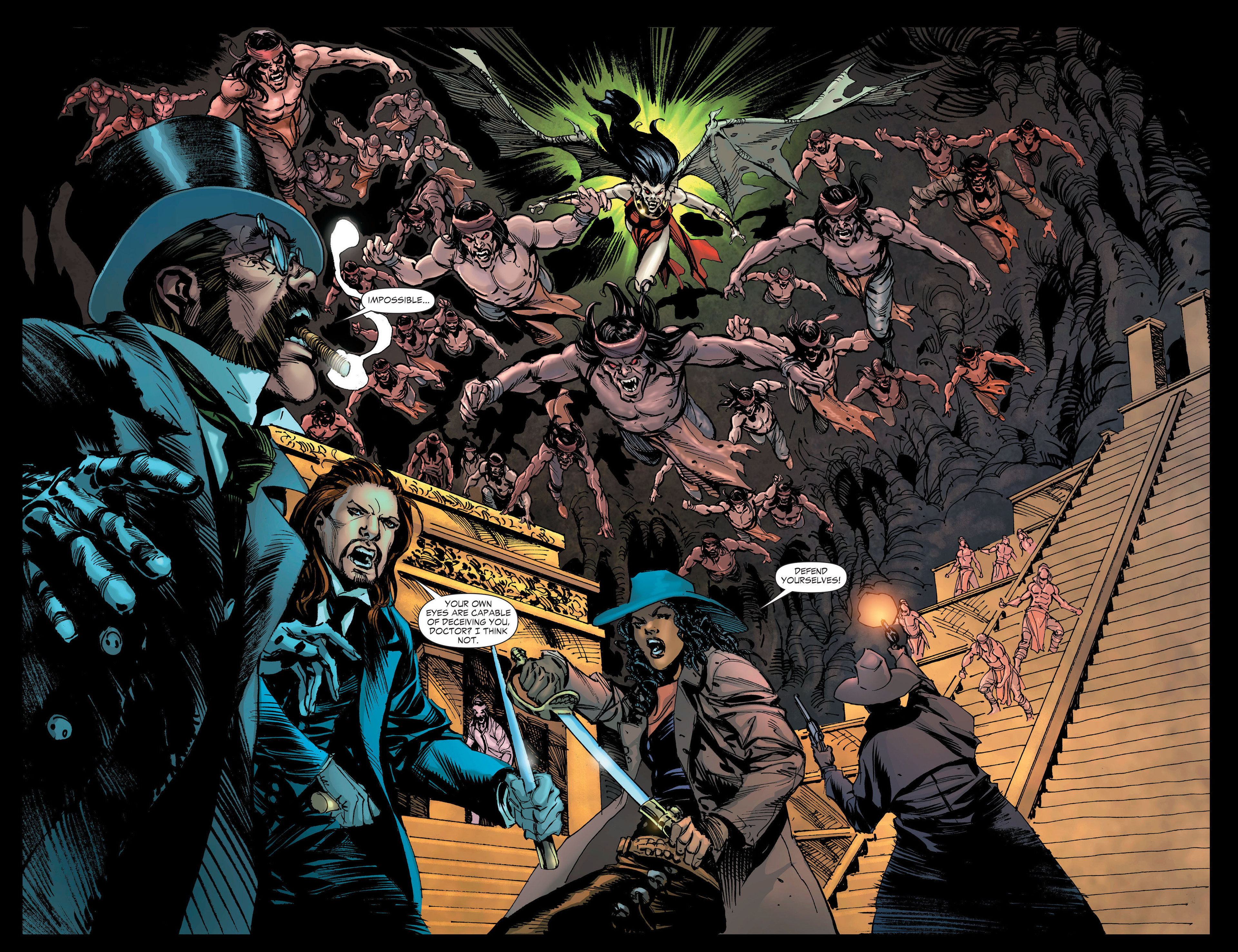 Read online All-Star Western (2011) comic -  Issue #20 - 27