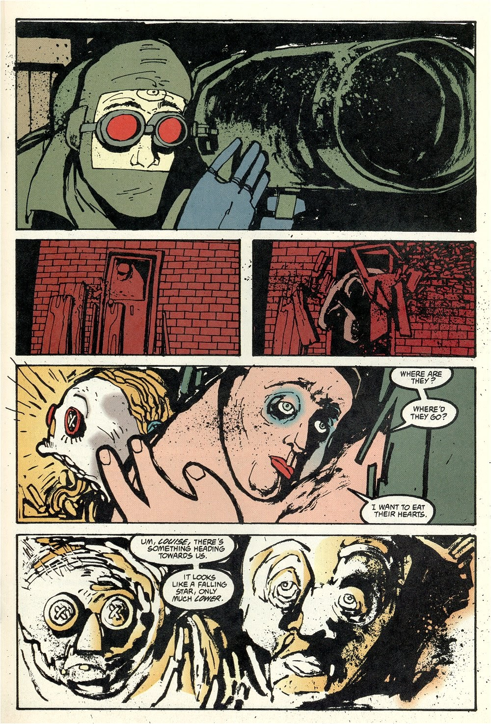 Read online Ted McKeever's Metropol comic -  Issue #11 - 19