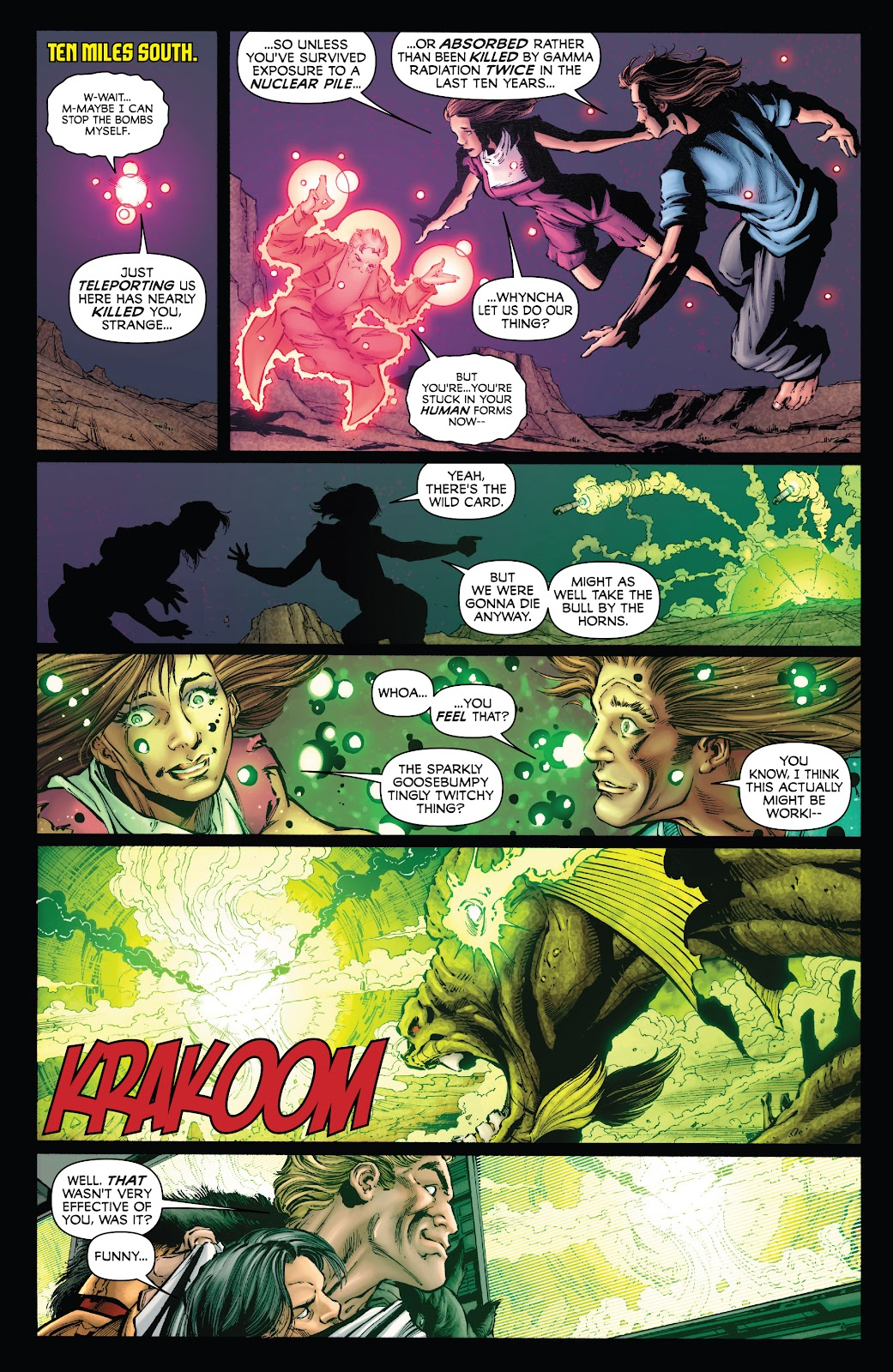 Read online Incredible Hulks (2010) comic -  Issue # _TPB Heart of the Monster - 116