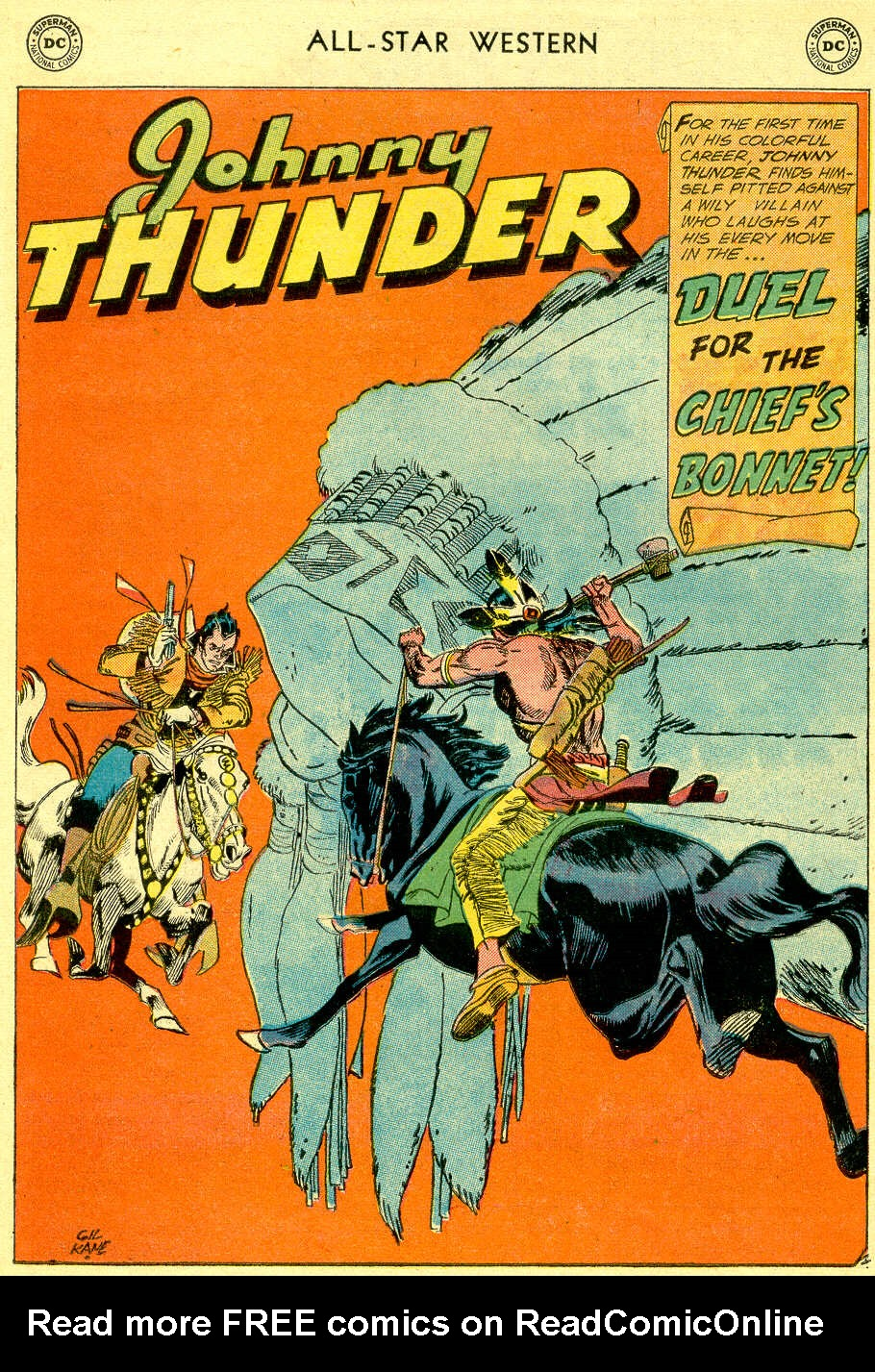 Read online All-Star Western (1951) comic -  Issue #103 - 24