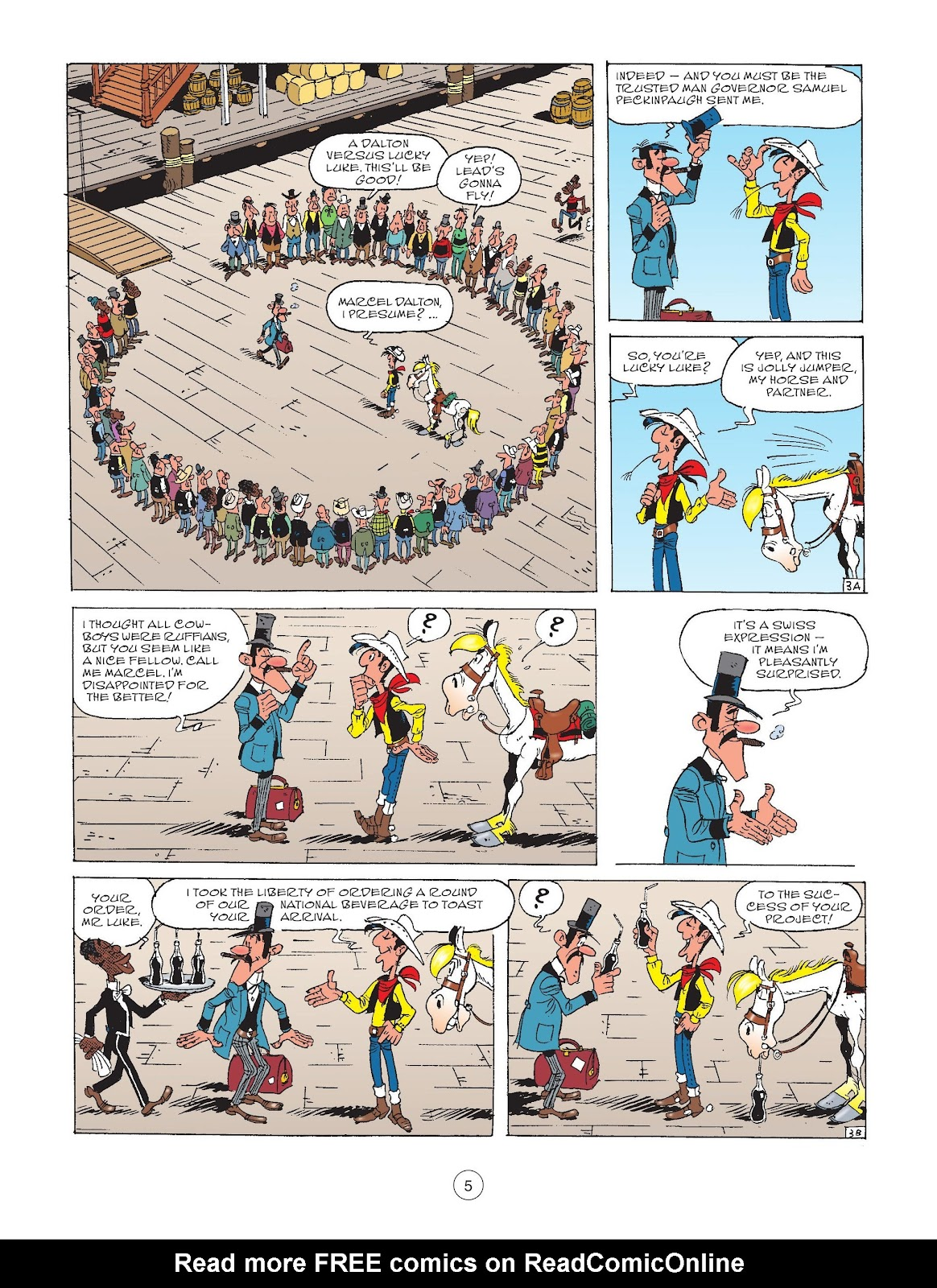 A Lucky Luke Adventure issue 72 - Page 7