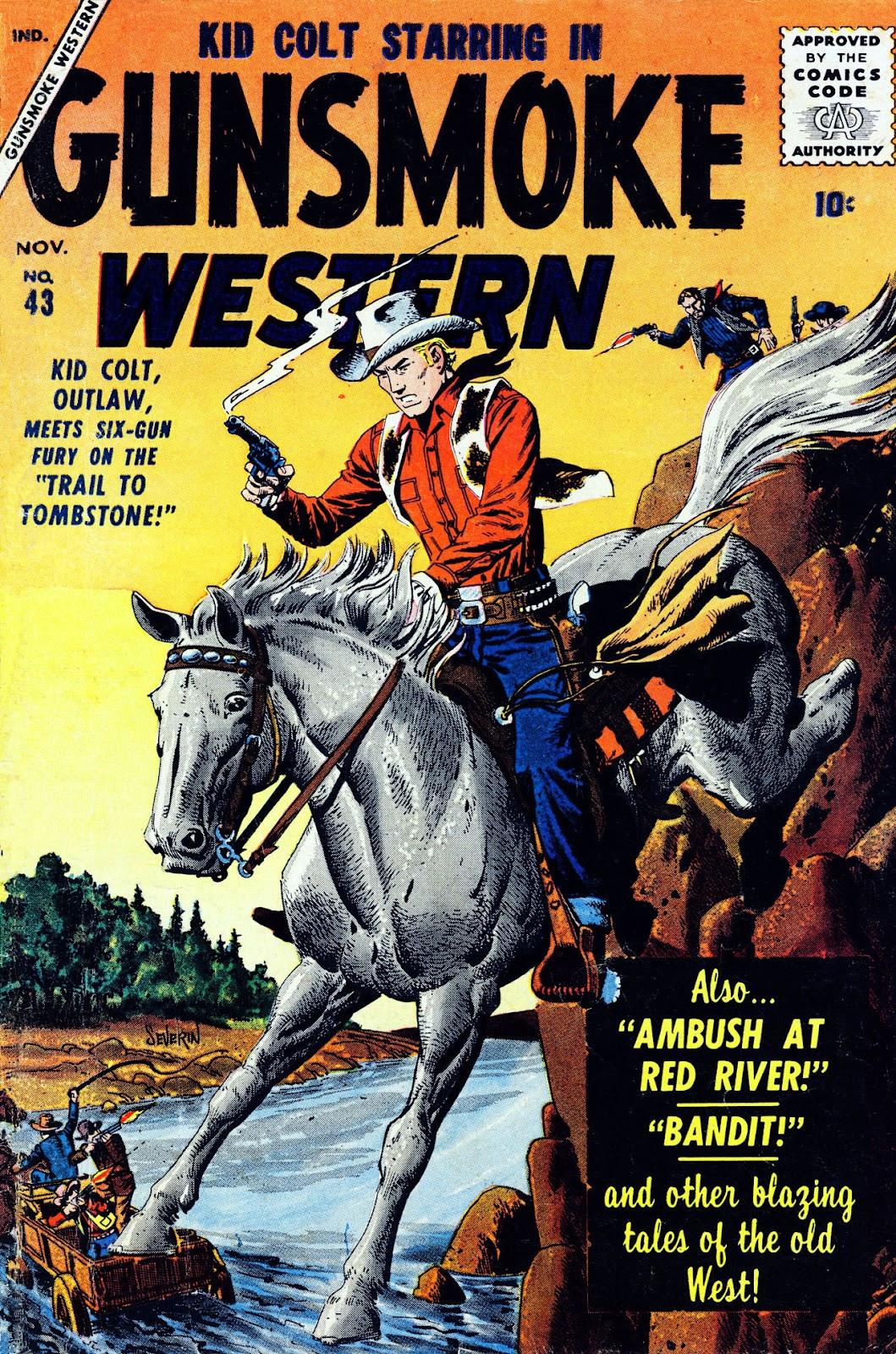Gunsmoke Western issue 43 - Page 1