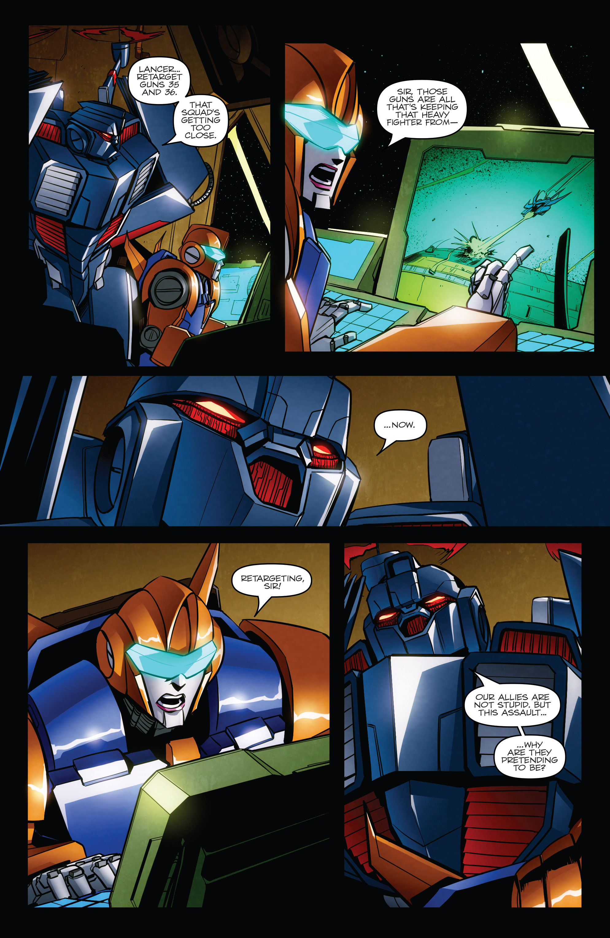 Read online Transformers: Till All Are One comic -  Issue #7 - 12