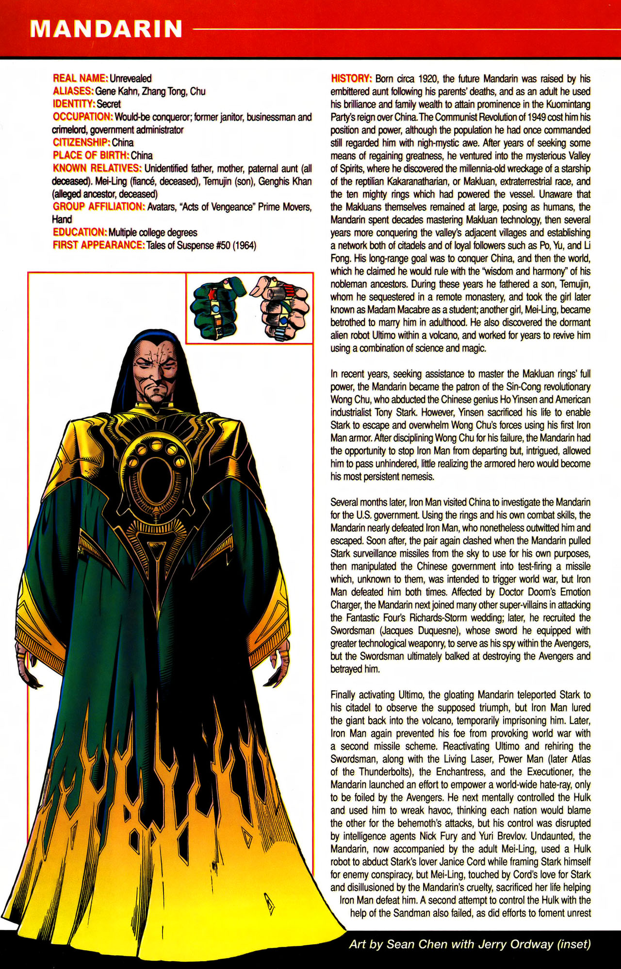 Read online All-New Official Handbook of the Marvel Universe A to Z comic -  Issue #7 - 4