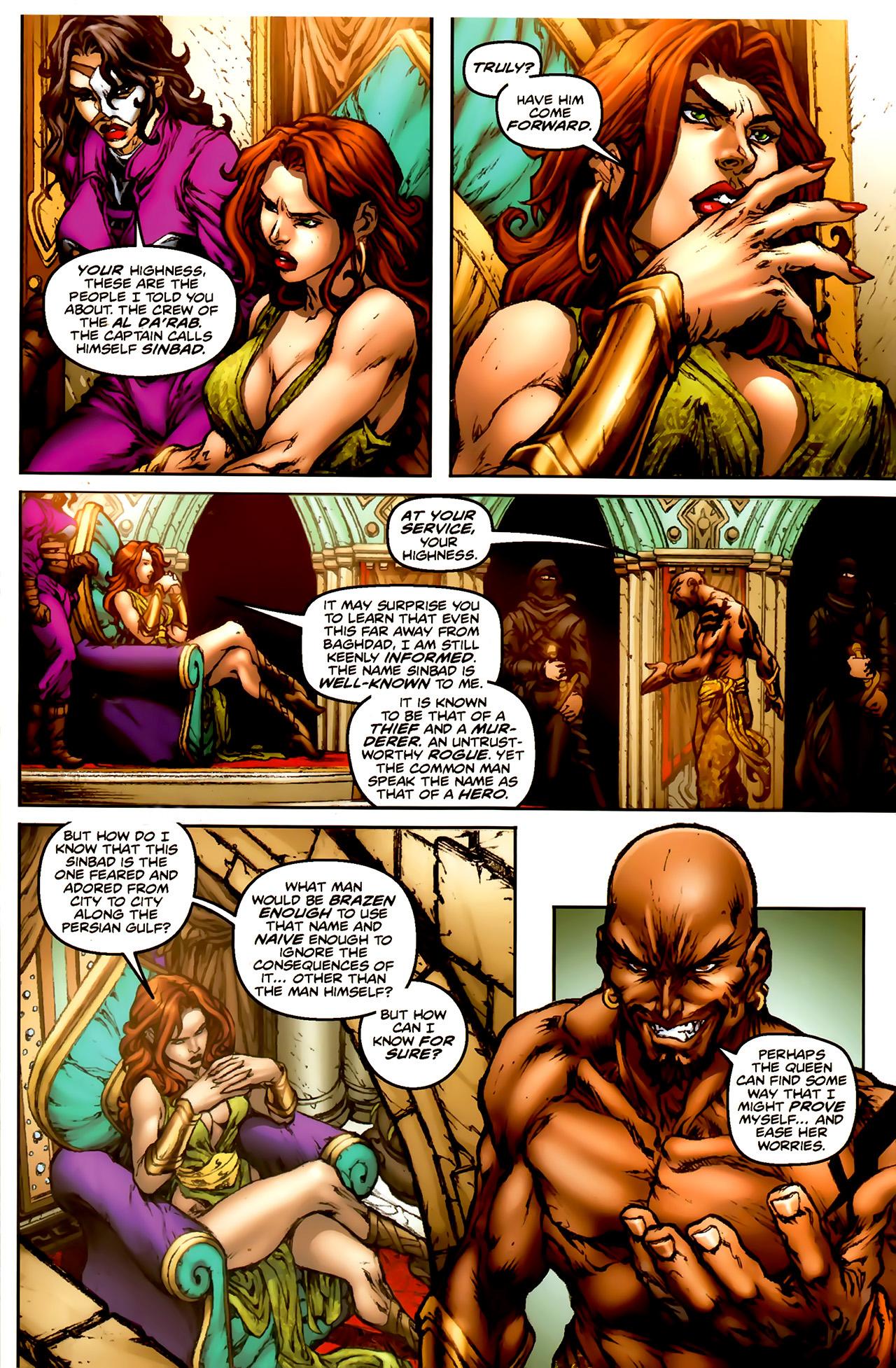 Read online 1001 Arabian Nights: The Adventures of Sinbad comic -  Issue #1 - 19