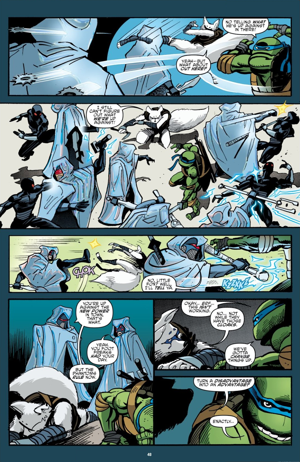 Read online Teenage Mutant Ninja Turtles: The IDW Collection comic -  Issue # TPB 7 (Part 1) - 47