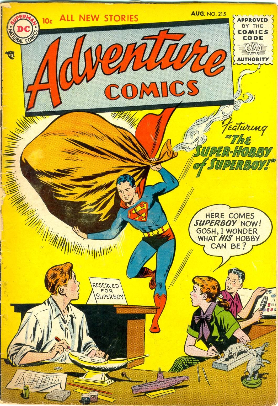 Read online Adventure Comics (1938) comic -  Issue #215 - 1