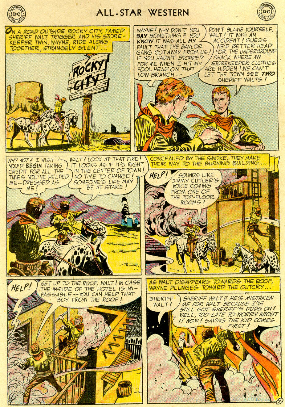 Read online All-Star Western (1951) comic -  Issue #83 - 4