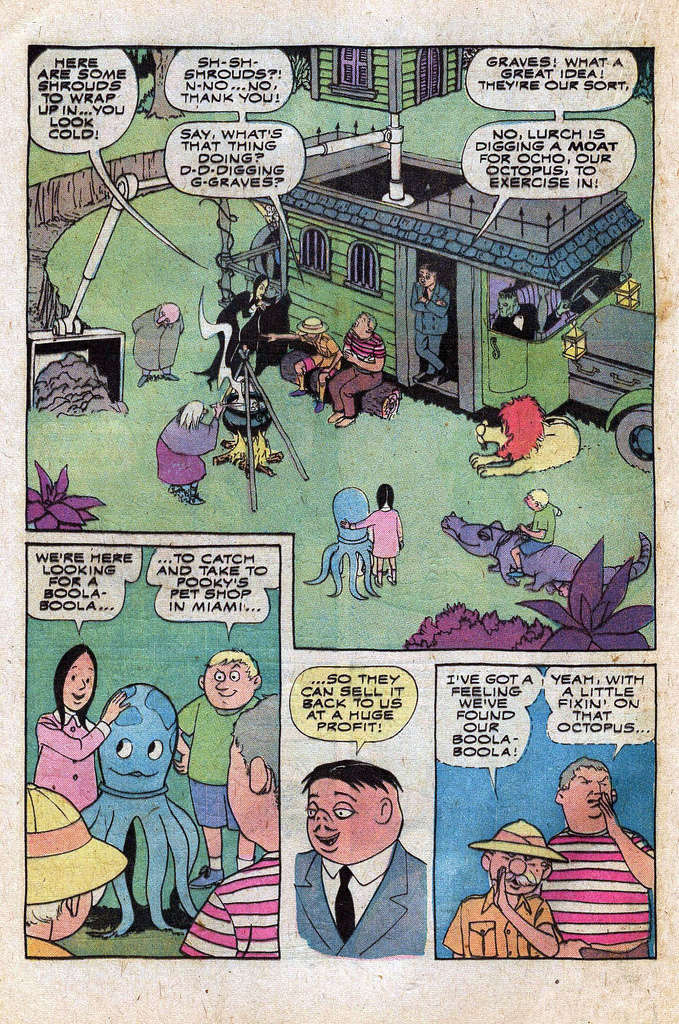 Read online Addams Family comic -  Issue #1 - 8