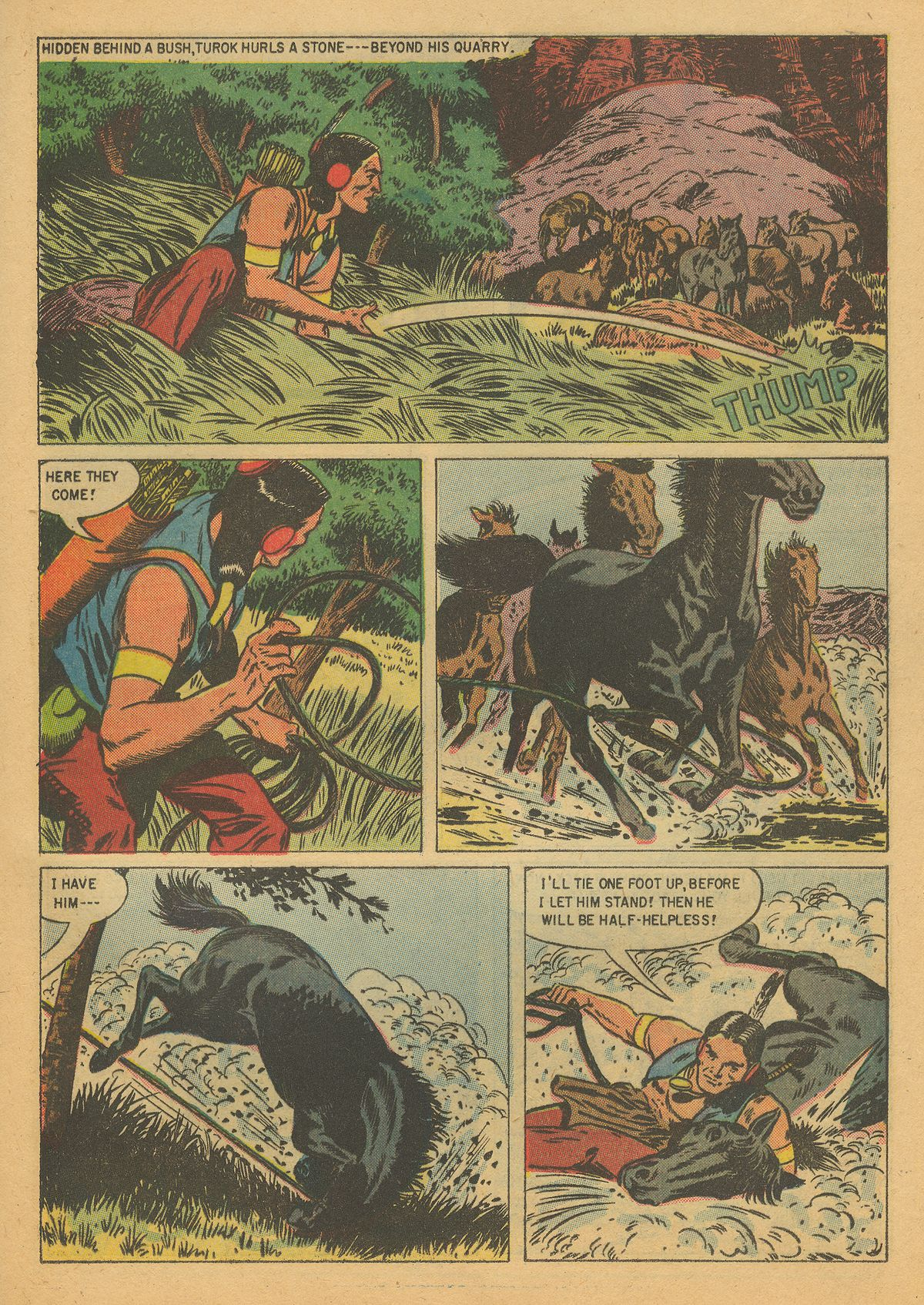 Read online Turok, Son of Stone comic -  Issue #8 - 25