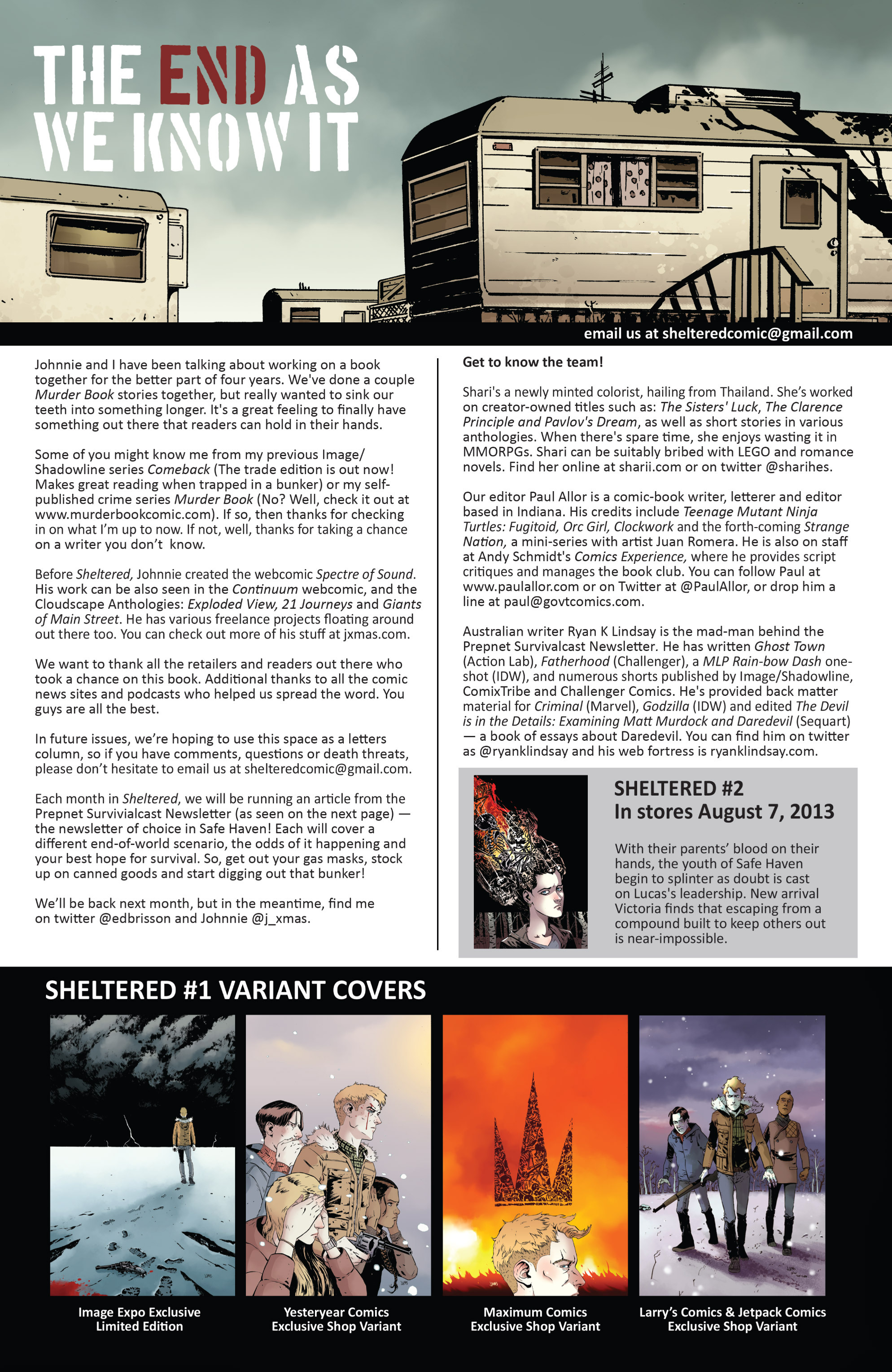 Read online Sheltered comic -  Issue #1 - 25