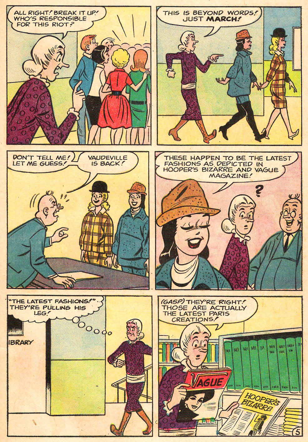 Read online Archie's Girls Betty and Veronica comic -  Issue #98 - 17