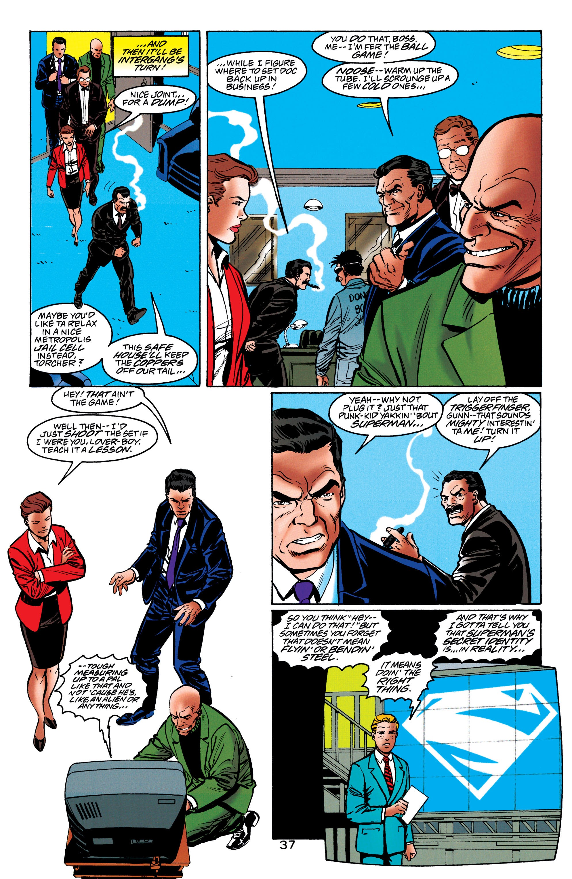 Adventures of Superman (1987) issue 550 - Page 38