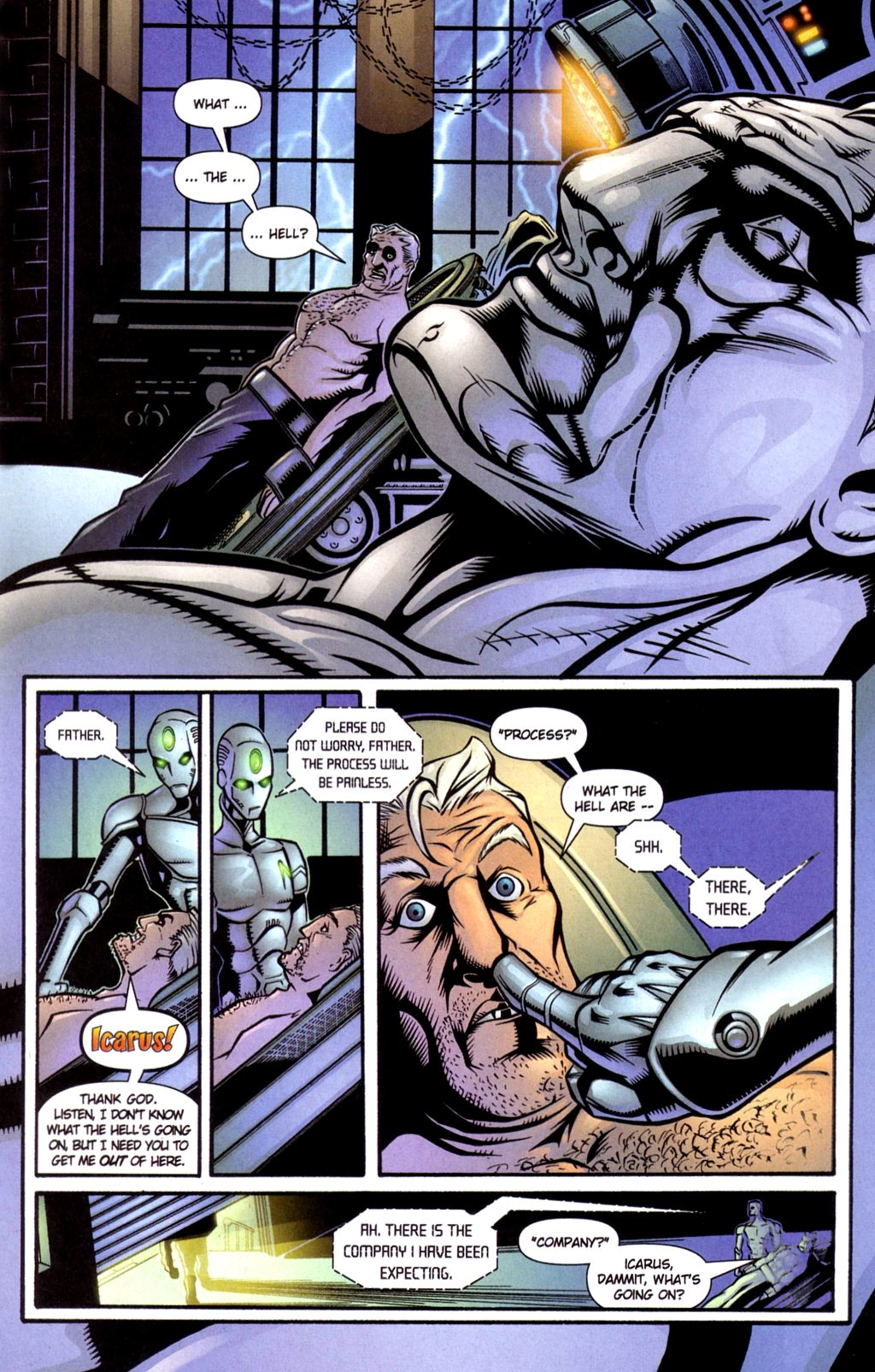 Read online Noble Causes (2002) comic -  Issue #4 - 3