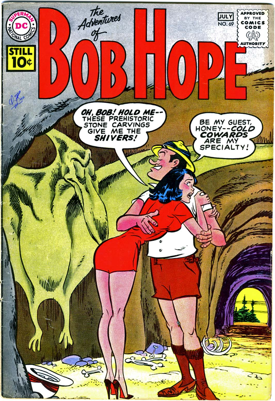 The Adventures of Bob Hope issue 69 - Page 1