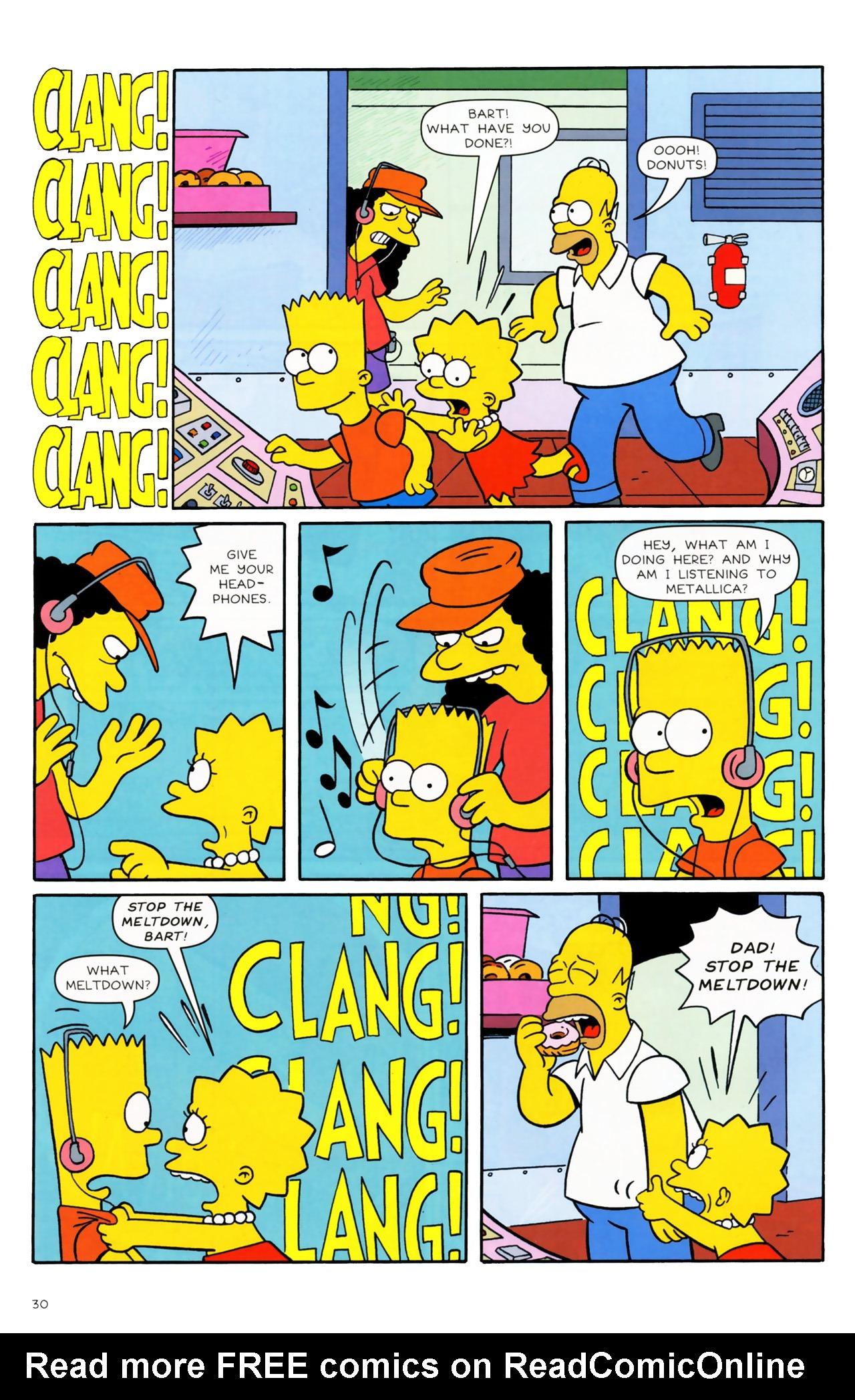 Read online Simpsons Comics comic -  Issue #170 - 23