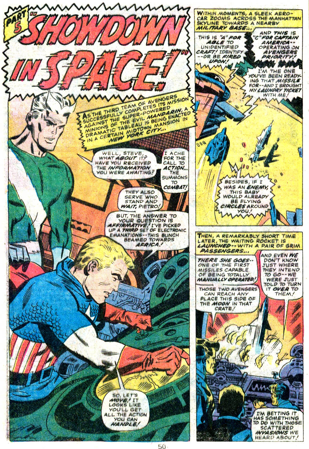 Giant-Size Avengers (1974) issue 5 - Page 41