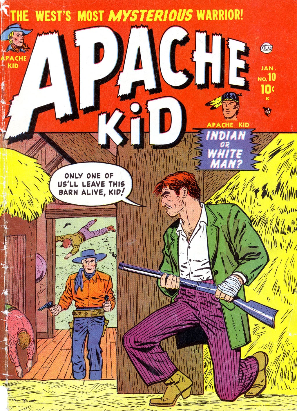 Apache Kid issue 10 - Page 1