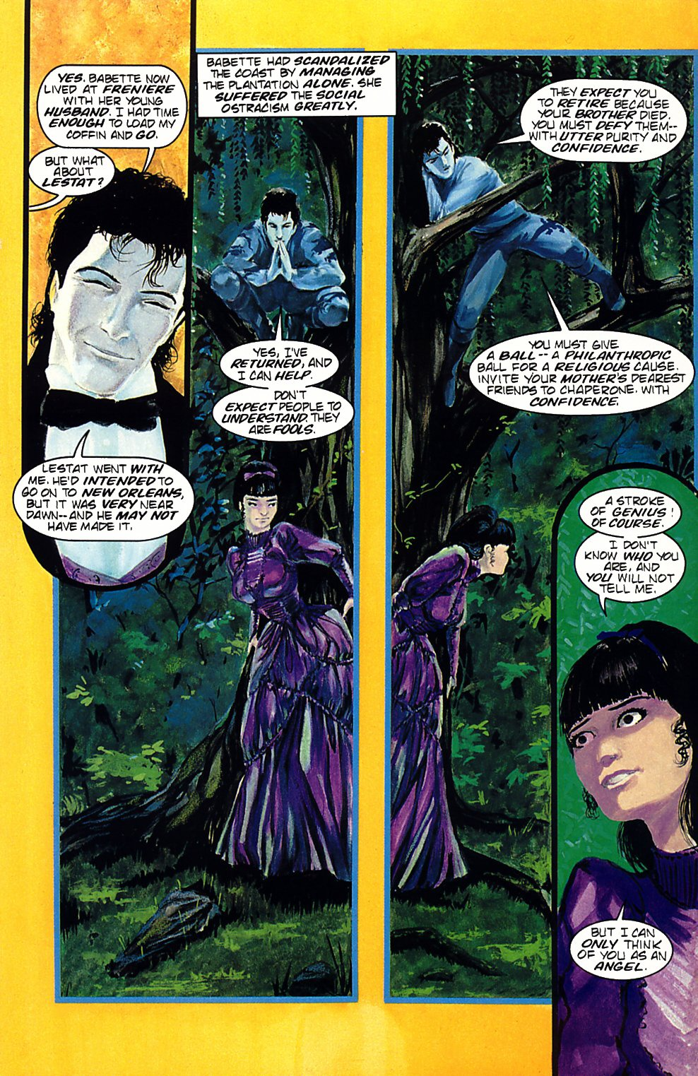 Read online Anne Rice's Interview with the Vampire comic -  Issue #2 - 21