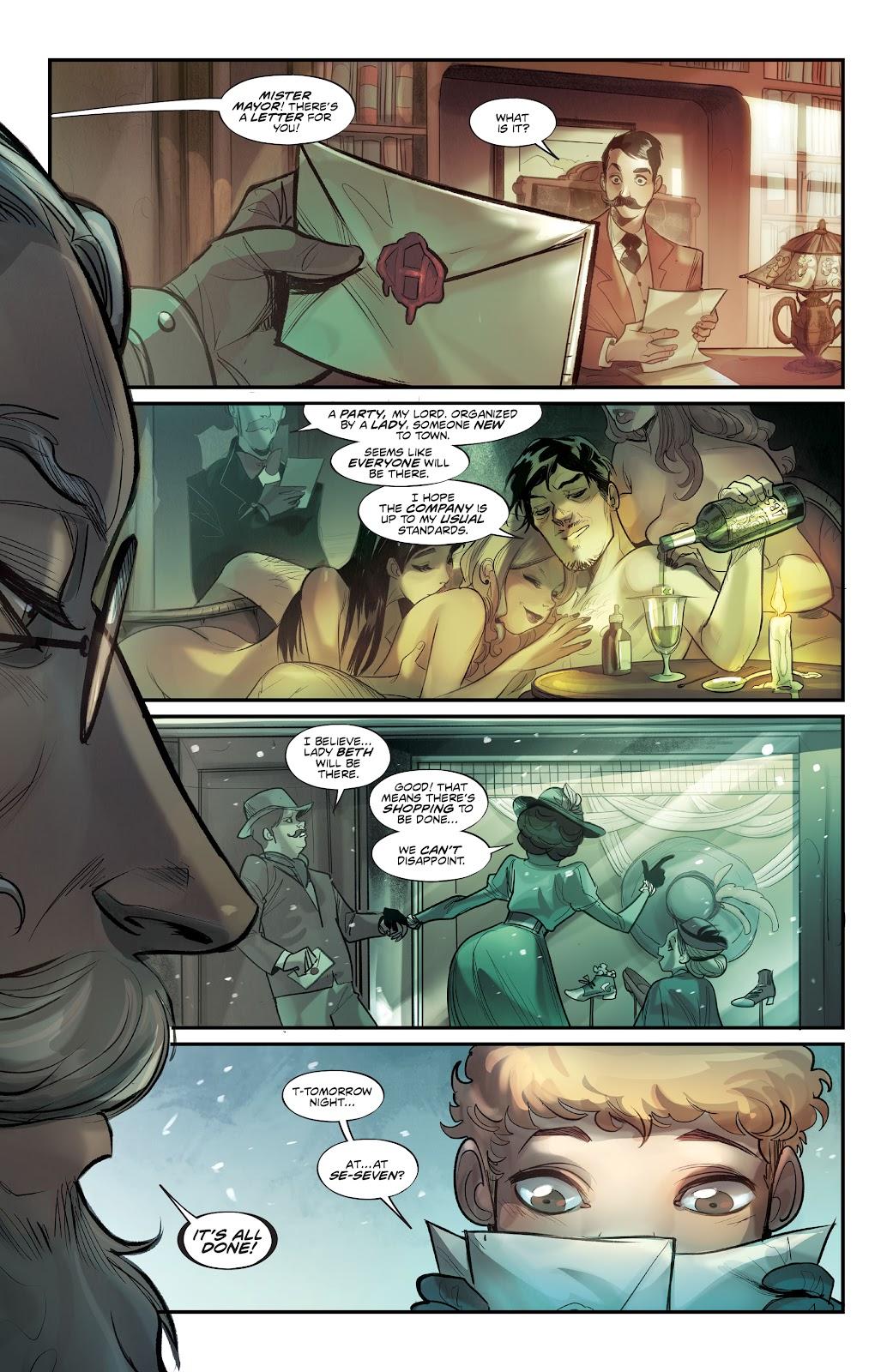 Read online Mirka Andolfo's Mercy comic -  Issue #2 - 9