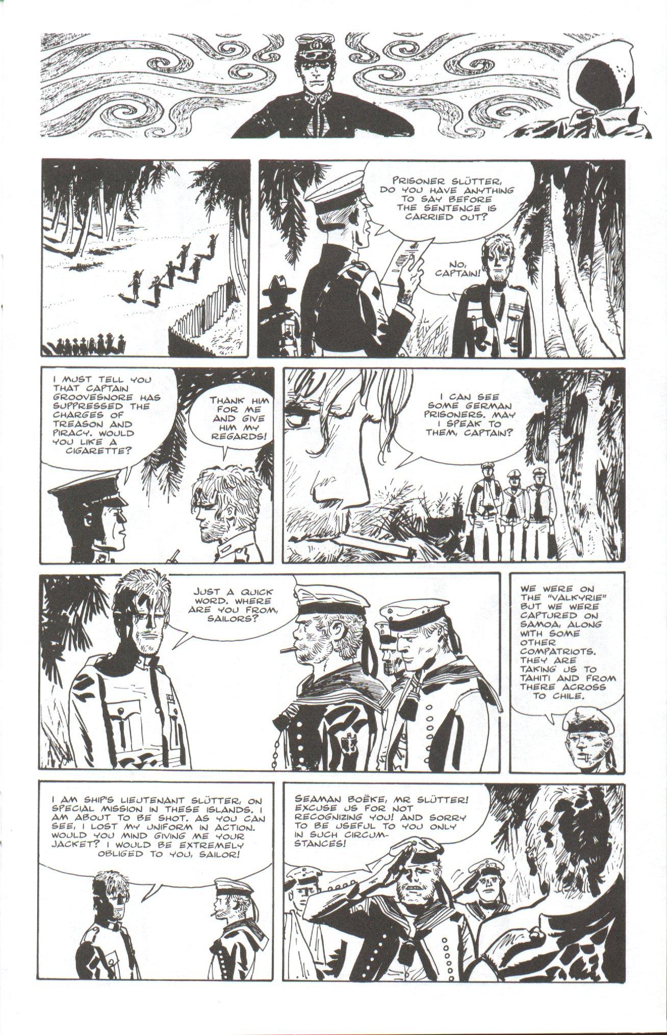 Read online Corto Maltese: Ballad of the Salt Sea comic -  Issue #7 - 11