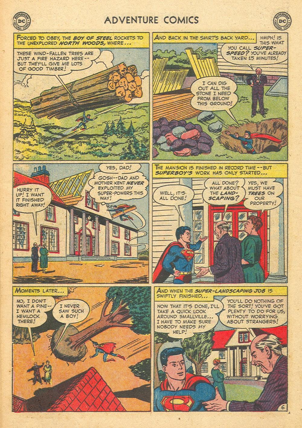 Read online Adventure Comics (1938) comic -  Issue #176 - 8