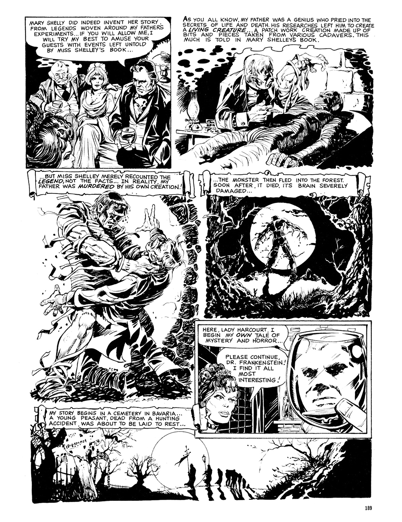 Read online Eerie Archives comic -  Issue # TPB 8 - 190